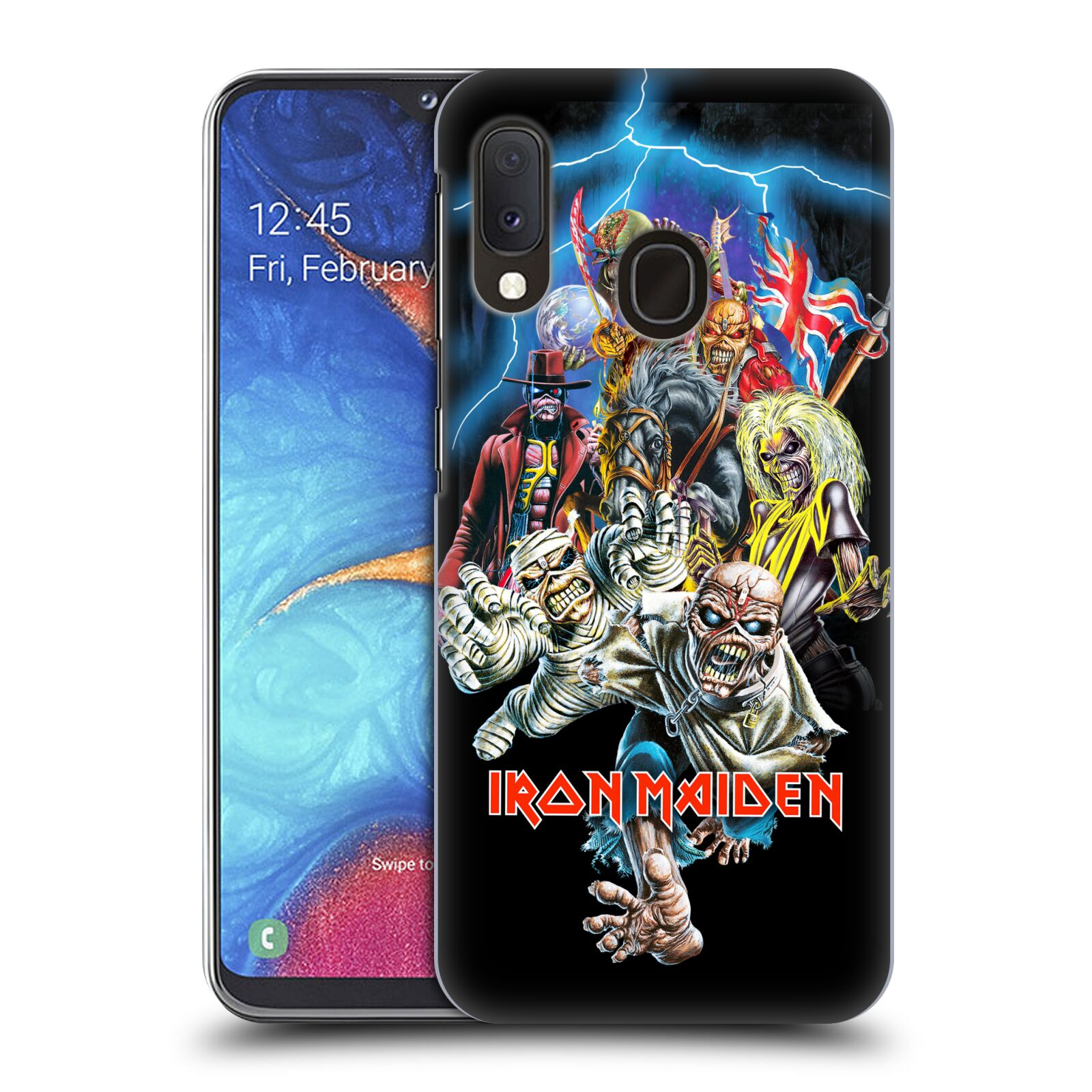 Plastové pouzdro na mobil Samsung Galaxy A20e - Head Case - Iron Maiden - Best Of Beast
