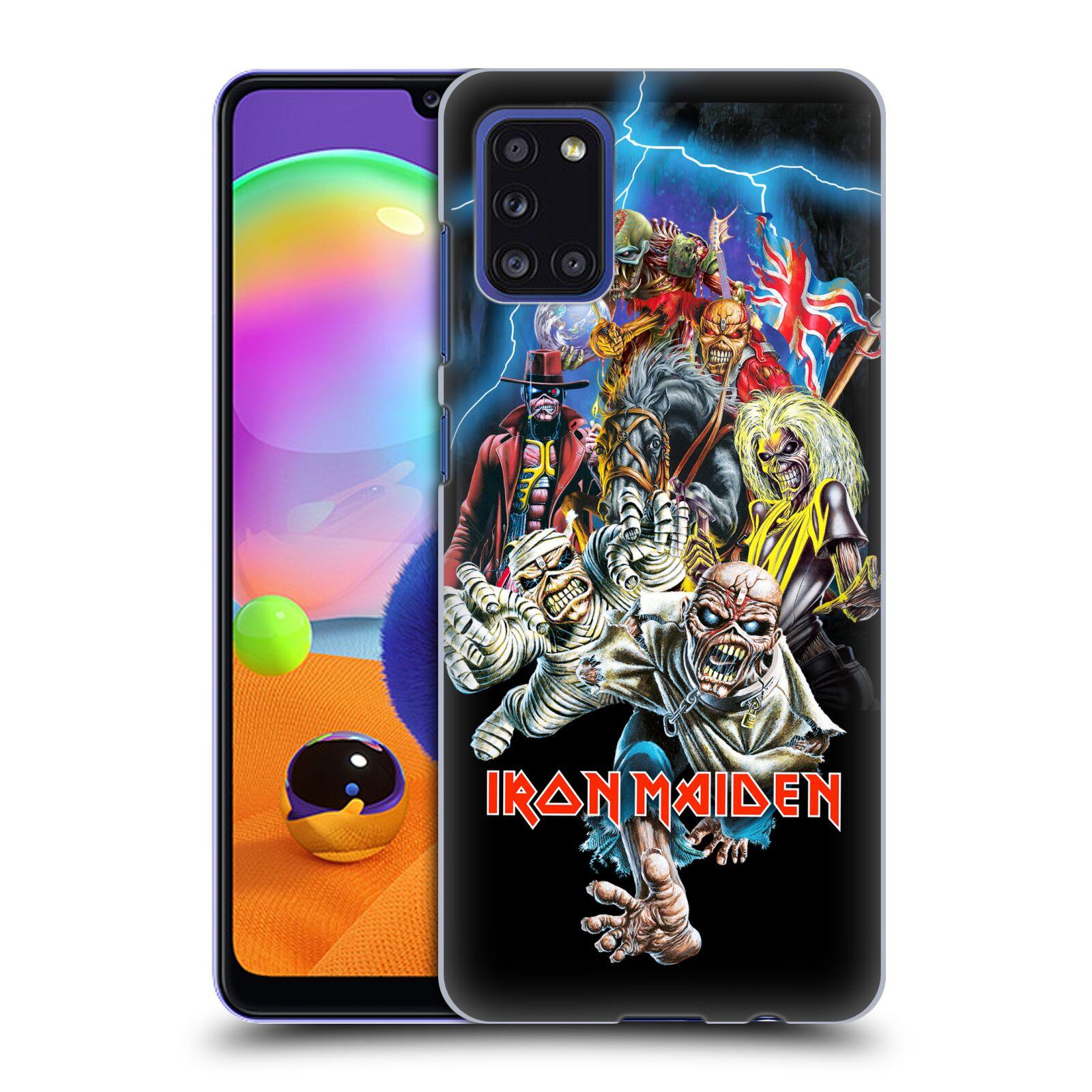 Plastové pouzdro na mobil Samsung Galaxy A31 - Head Case - Iron Maiden - Best Of Beast