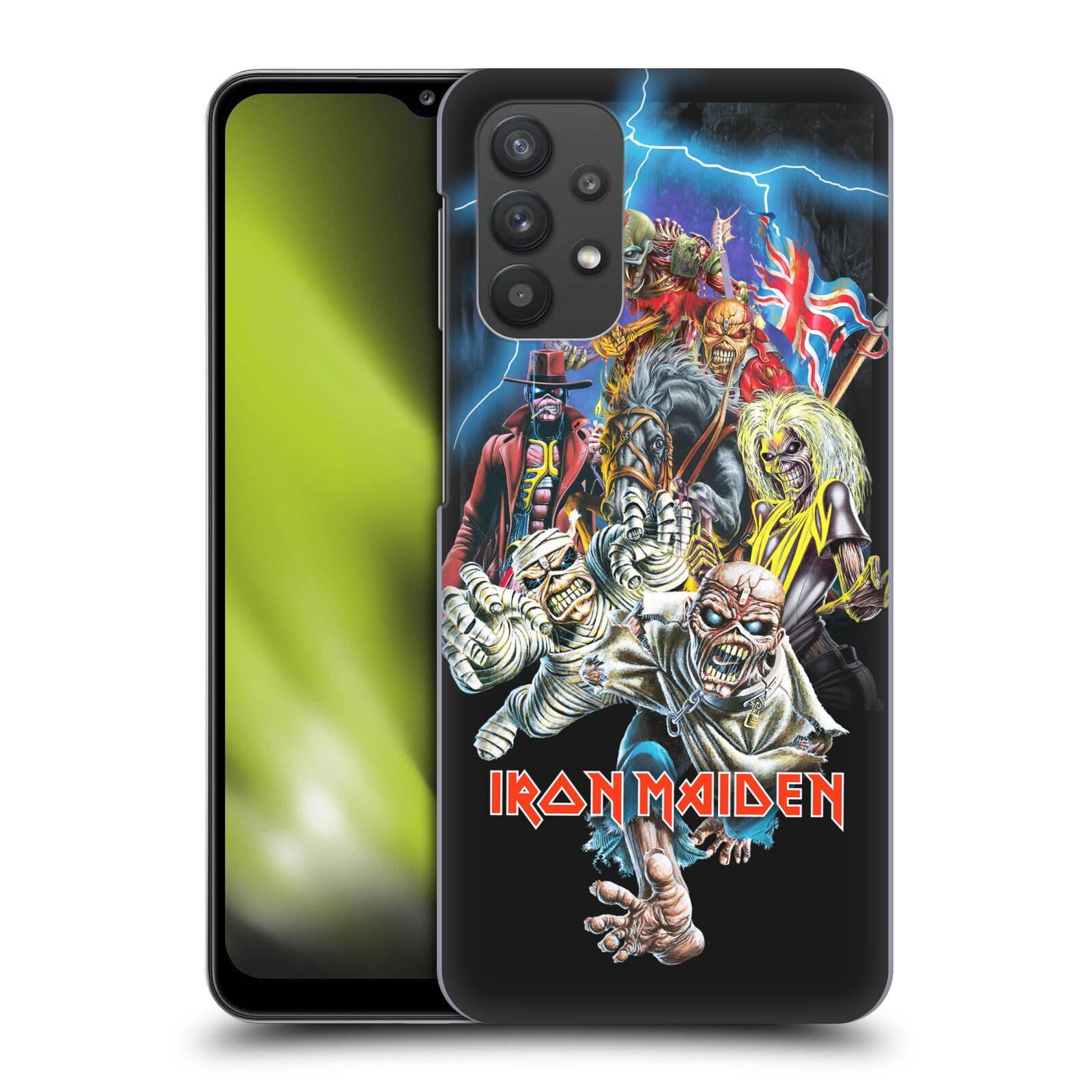 Plastové pouzdro na mobil Samsung Galaxy A32 5G - Head Case - Iron Maiden - Best Of Beast