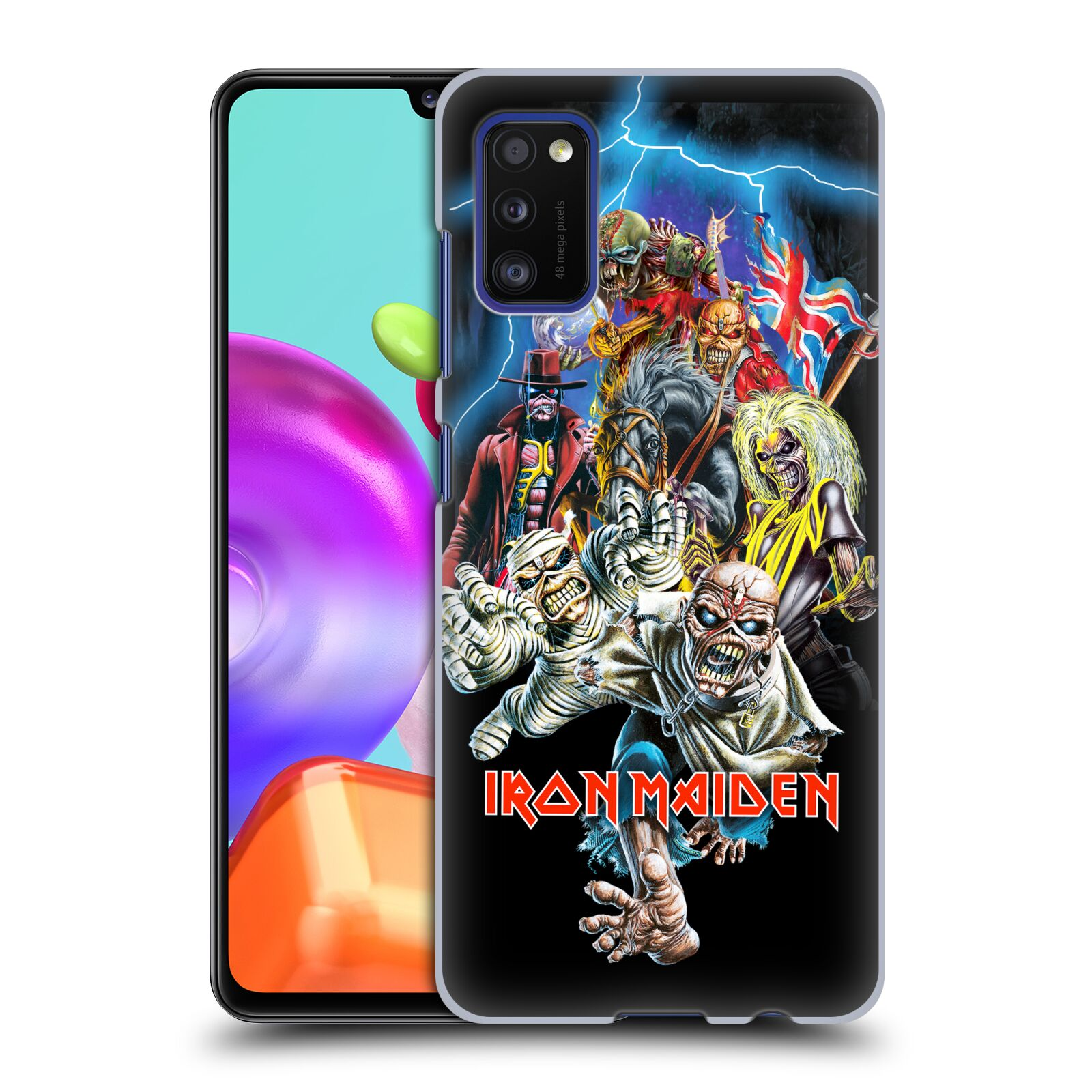 Plastové pouzdro na mobil Samsung Galaxy A41 - Head Case - Iron Maiden - Best Of Beast