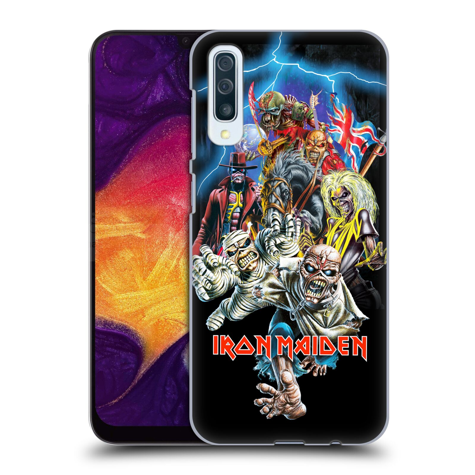 Plastové pouzdro na mobil Samsung Galaxy A50 / A30s - Head Case - Iron Maiden - Best Of Beast