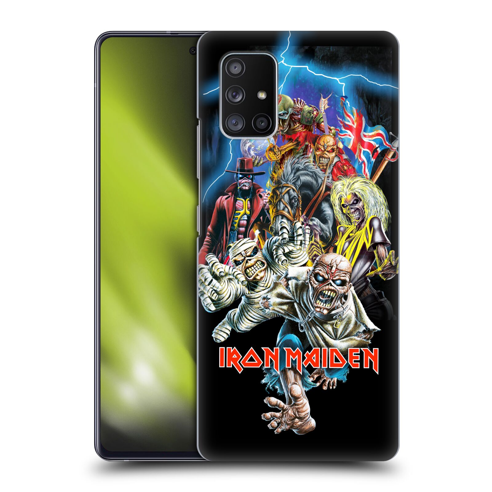 Plastové pouzdro na mobil Samsung Galaxy A51 5G - Head Case - Iron Maiden - Best Of Beast