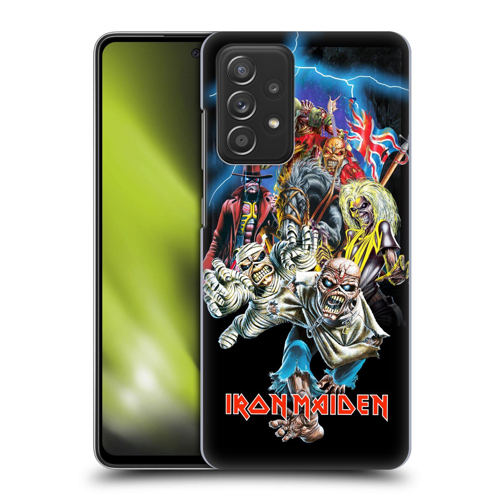 Plastové pouzdro na mobil Samsung Galaxy A52 / A52 5G / A52s 5G - Head Case - Iron Maiden - Best Of Beast
