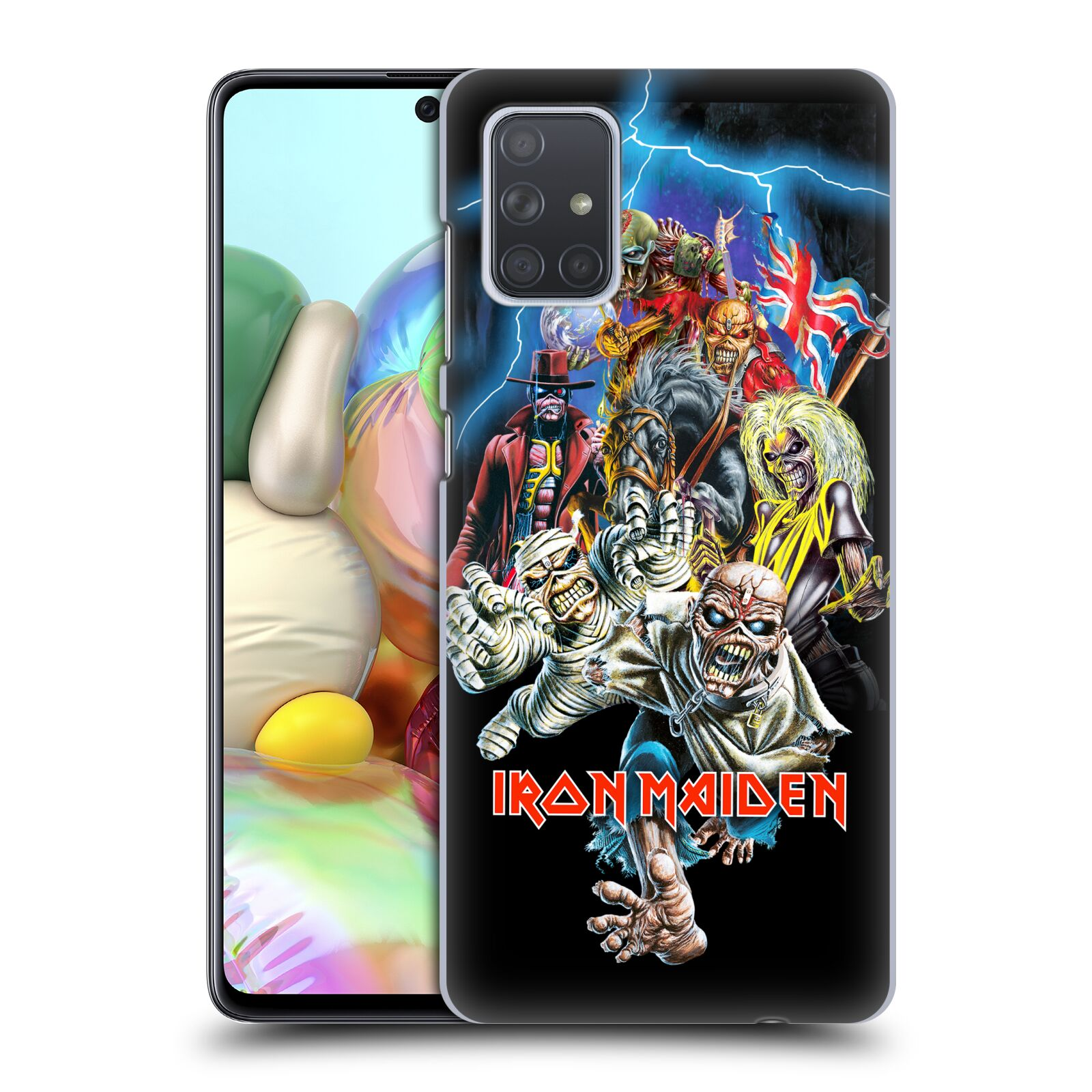 Plastové pouzdro na mobil Samsung Galaxy A71 - Head Case - Iron Maiden - Best Of Beast