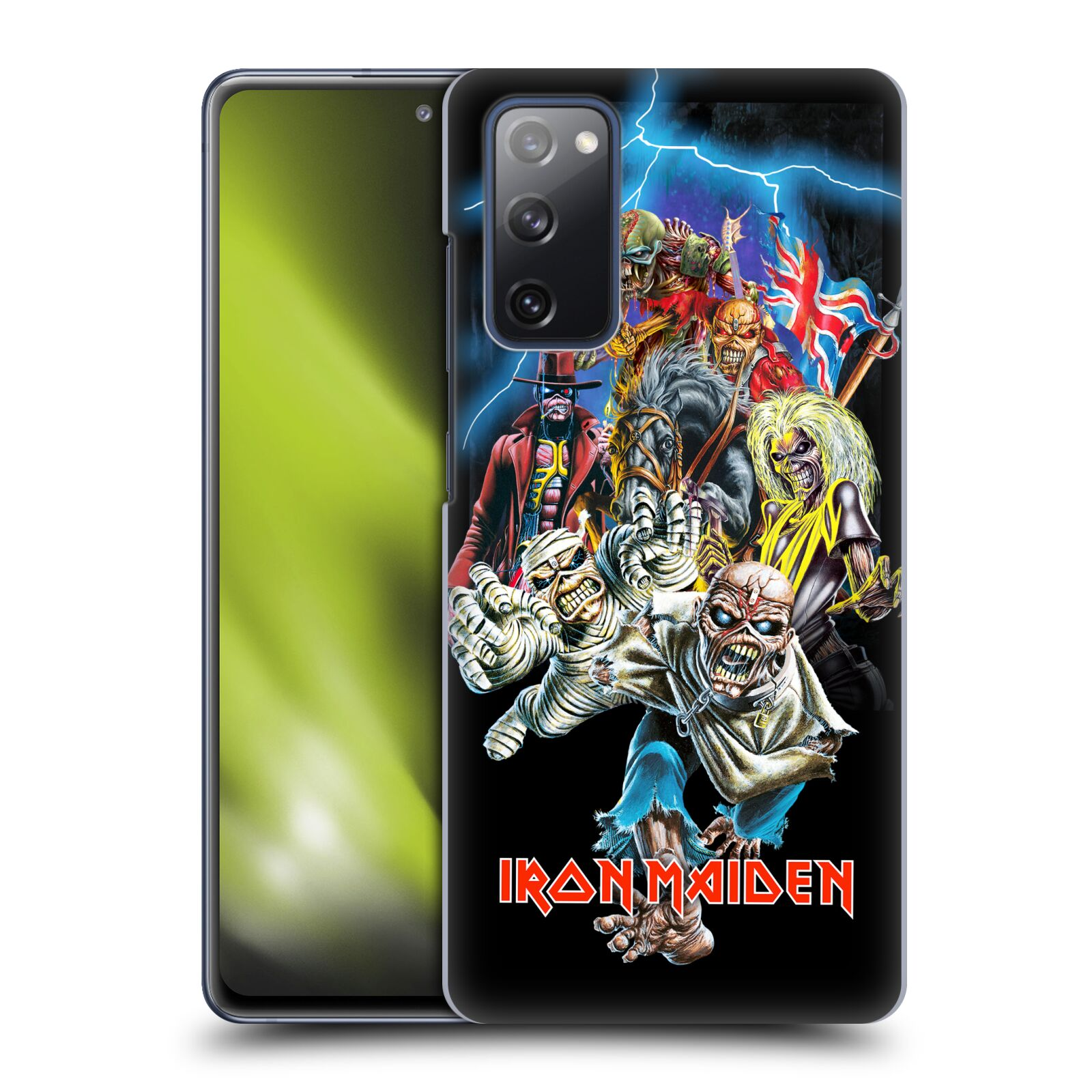 Plastové pouzdro na mobil Samsung Galaxy S20 FE - Head Case - Iron Maiden - Best Of Beast