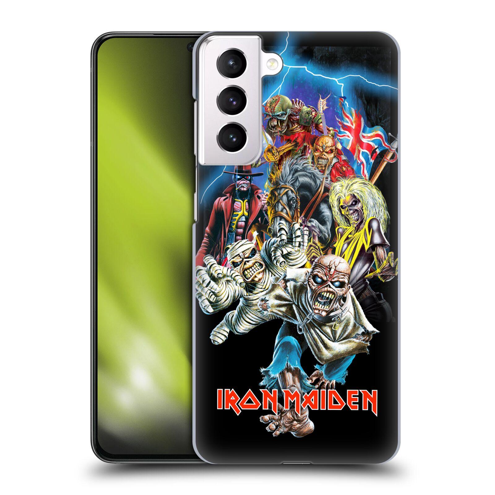 Plastové pouzdro na mobil Samsung Galaxy S21 Plus 5G - Head Case - Iron Maiden - Best Of Beast