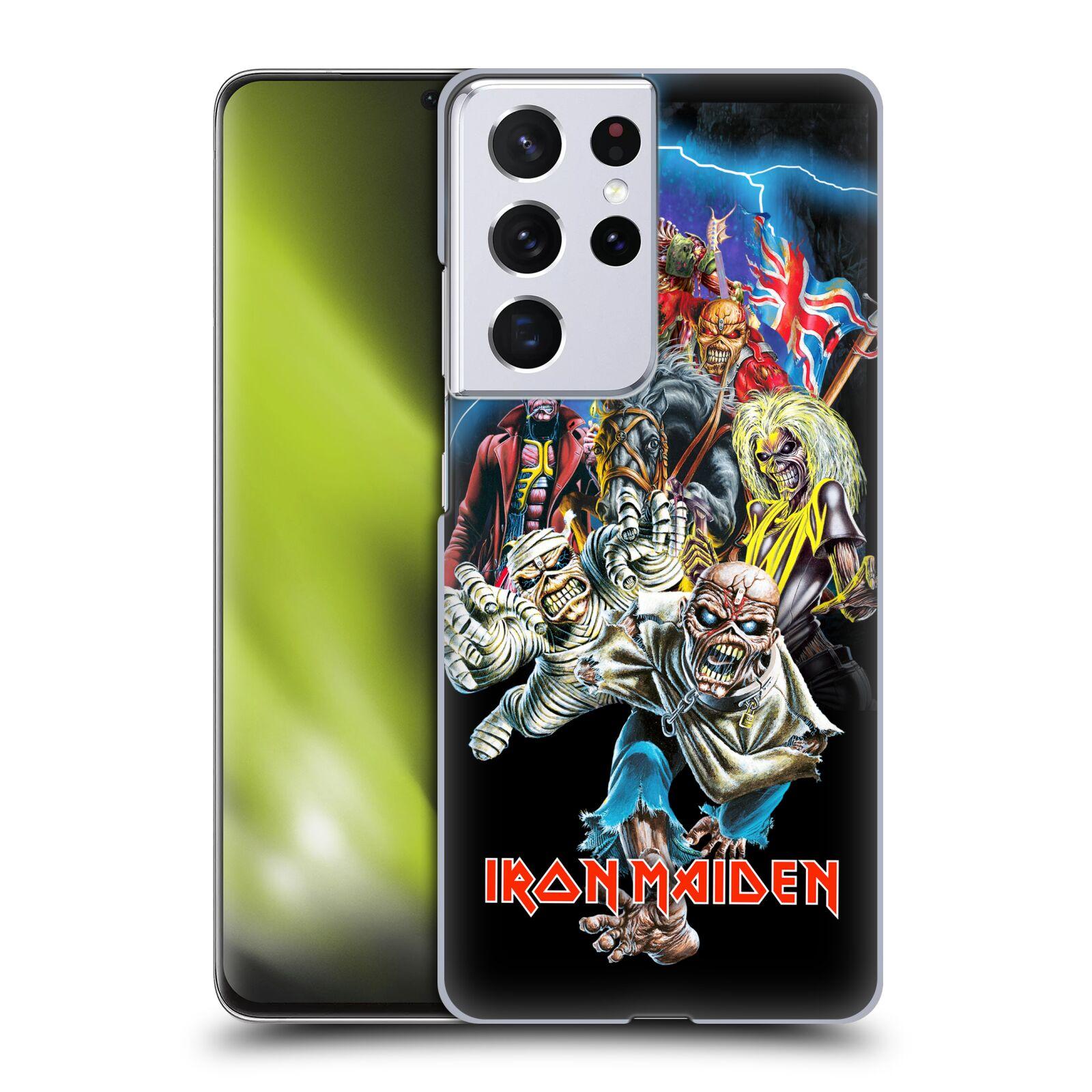 Plastové pouzdro na mobil Samsung Galaxy S21 Ultra 5G - Head Case - Iron Maiden - Best Of Beast