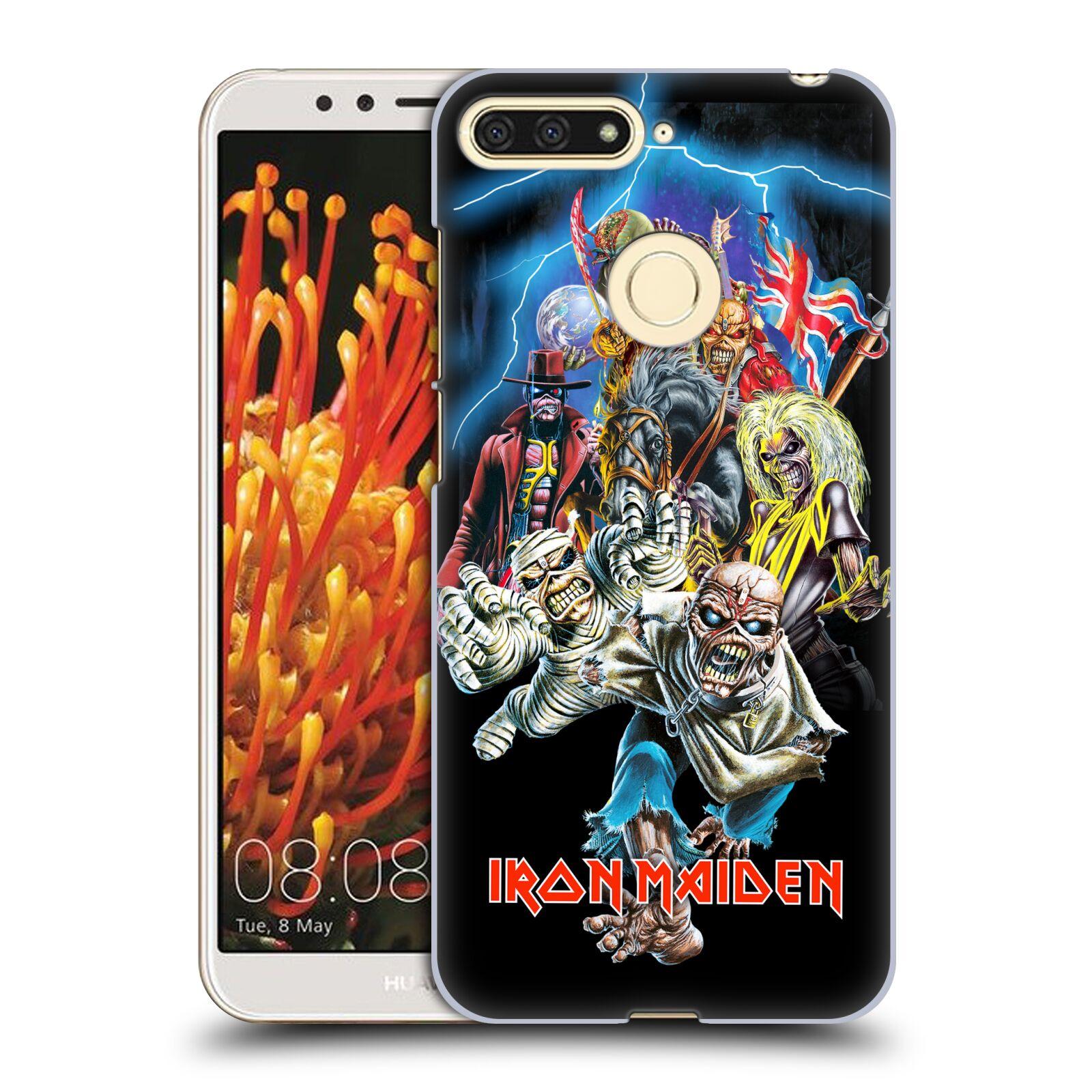 Plastové pouzdro na mobil Huawei Y6 Prime 2018 - Head Case - Iron Maiden - Best Of Beast