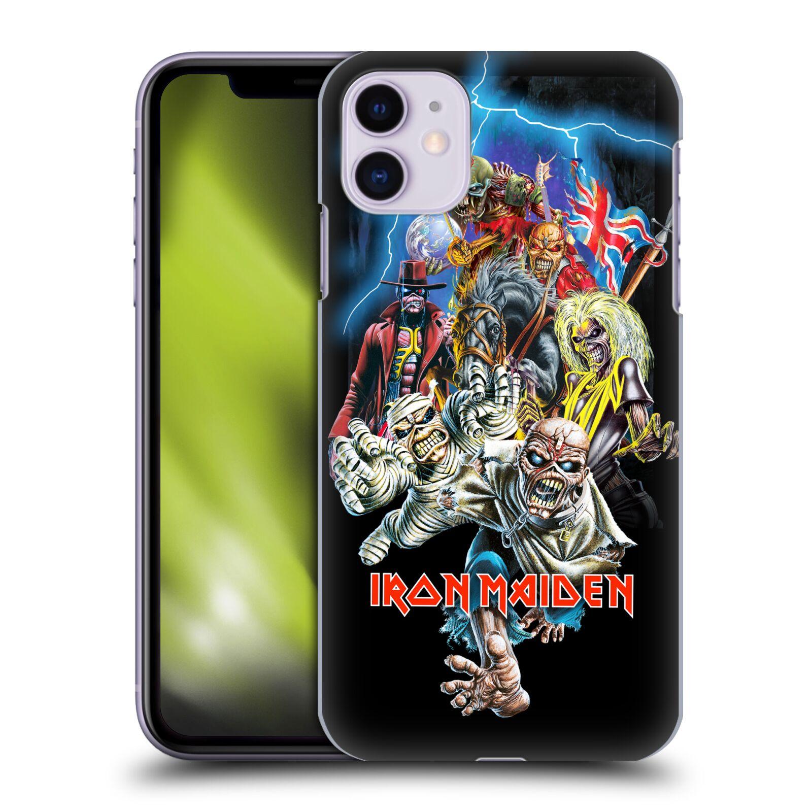 Plastové pouzdro na mobil Apple iPhone 11 - Head Case - Iron Maiden - Best Of Beast