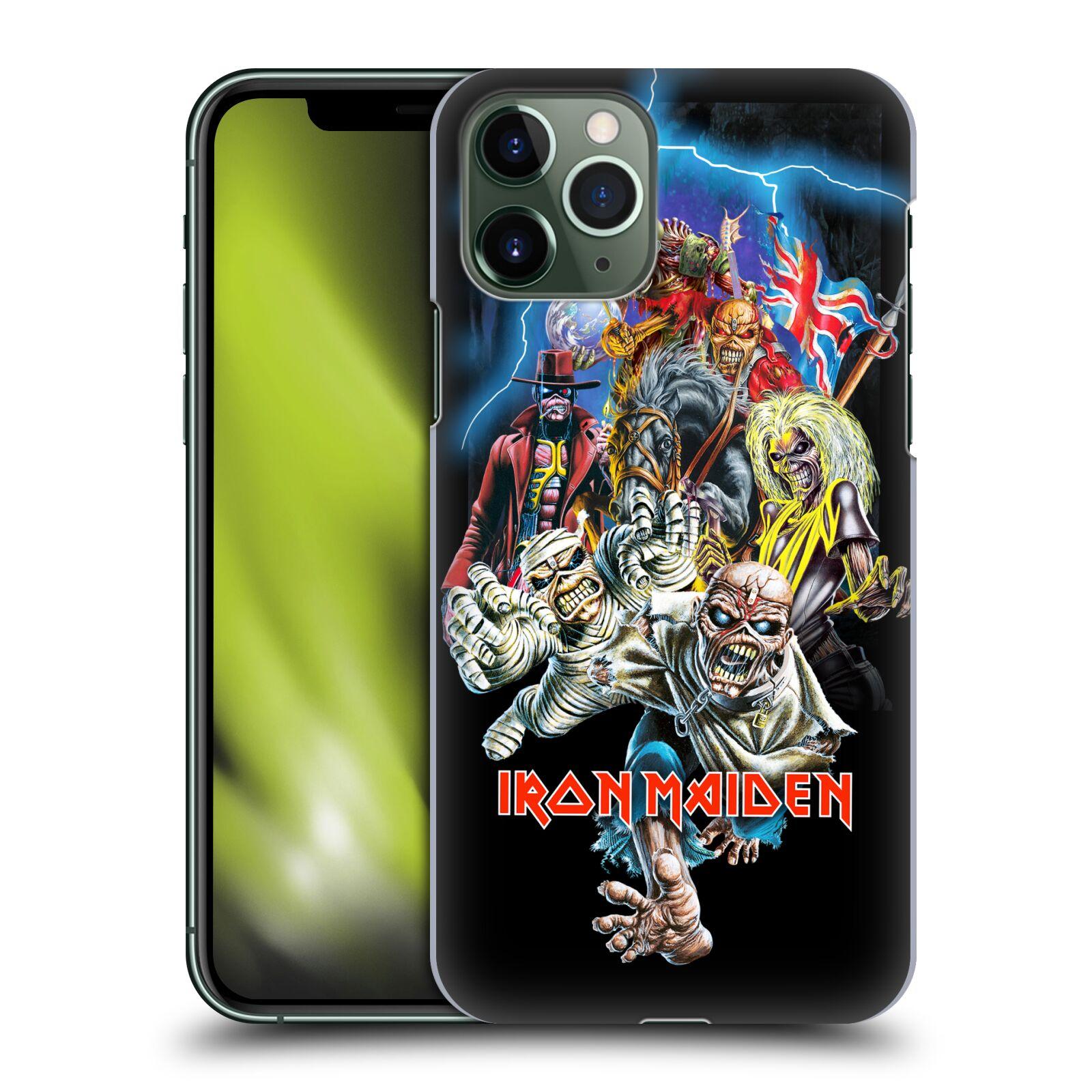 Plastové pouzdro na mobil Apple iPhone 11 Pro - Head Case - Iron Maiden - Best Of Beast