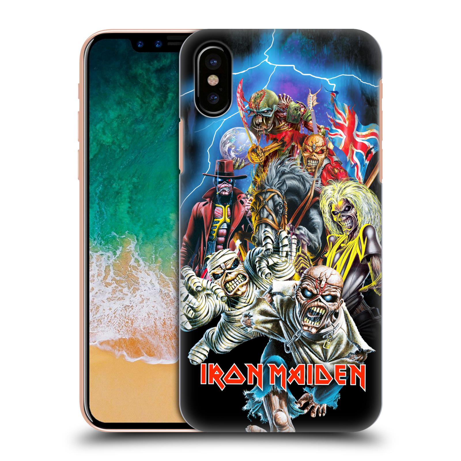 Plastové pouzdro na mobil Apple iPhone X - Head Case - Iron Maiden - Best Of Beast (Plastový kryt či obal na mobilní telefon Apple iPhone X s motivem Iron Maiden - Best Of Beast)