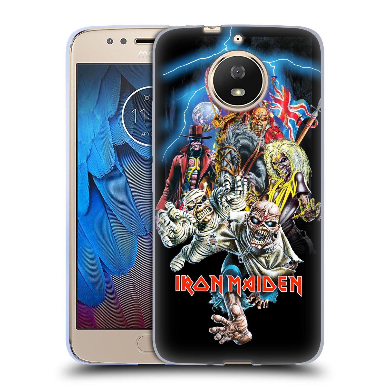 Silikonové pouzdro na mobil Lenovo Moto G5s - Head Case - Iron Maiden - Best Of Beast