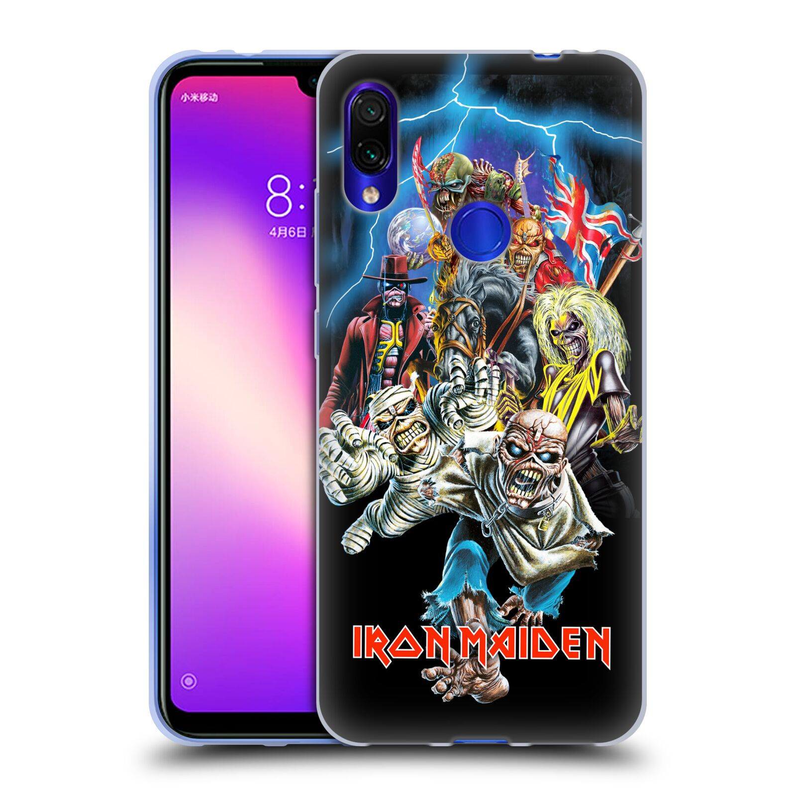 Silikonové pouzdro na mobil Xiaomi Redmi Note 7 - Head Case - Iron Maiden - Best Of Beast
