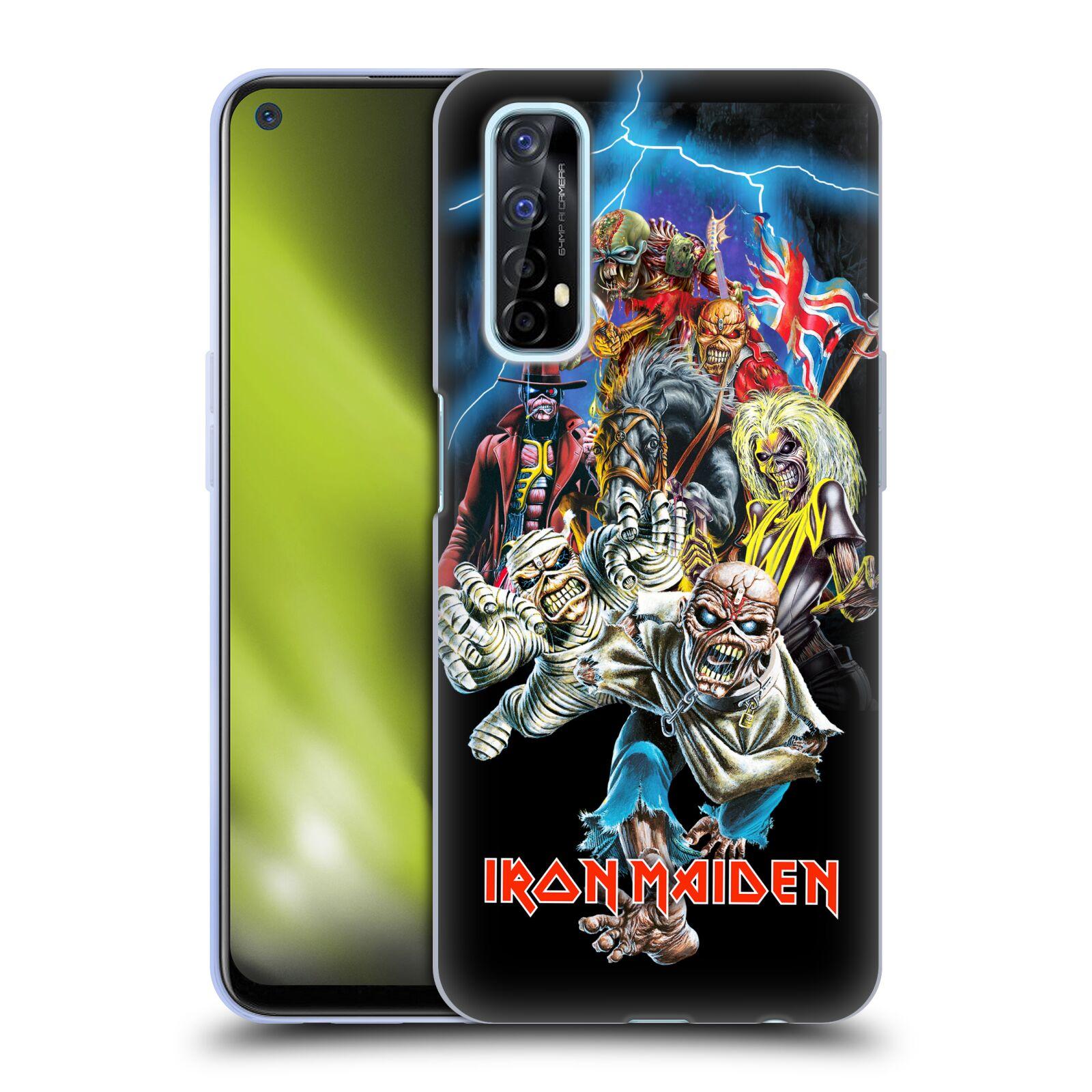 Silikonové pouzdro na mobil Realme 7 - Head Case - Iron Maiden - Best Of Beast