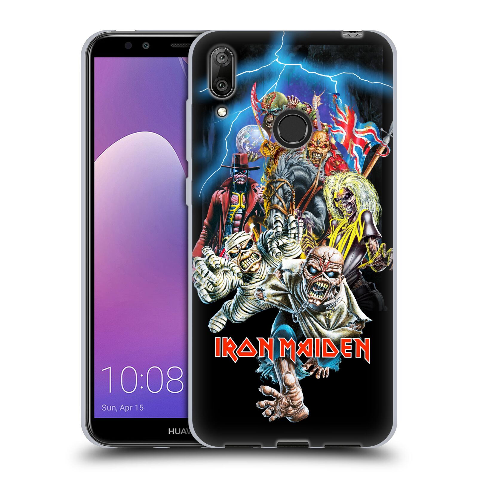 Silikonové pouzdro na mobil Huawei Y7 (2019) - Head Case - Iron Maiden - Best Of Beast