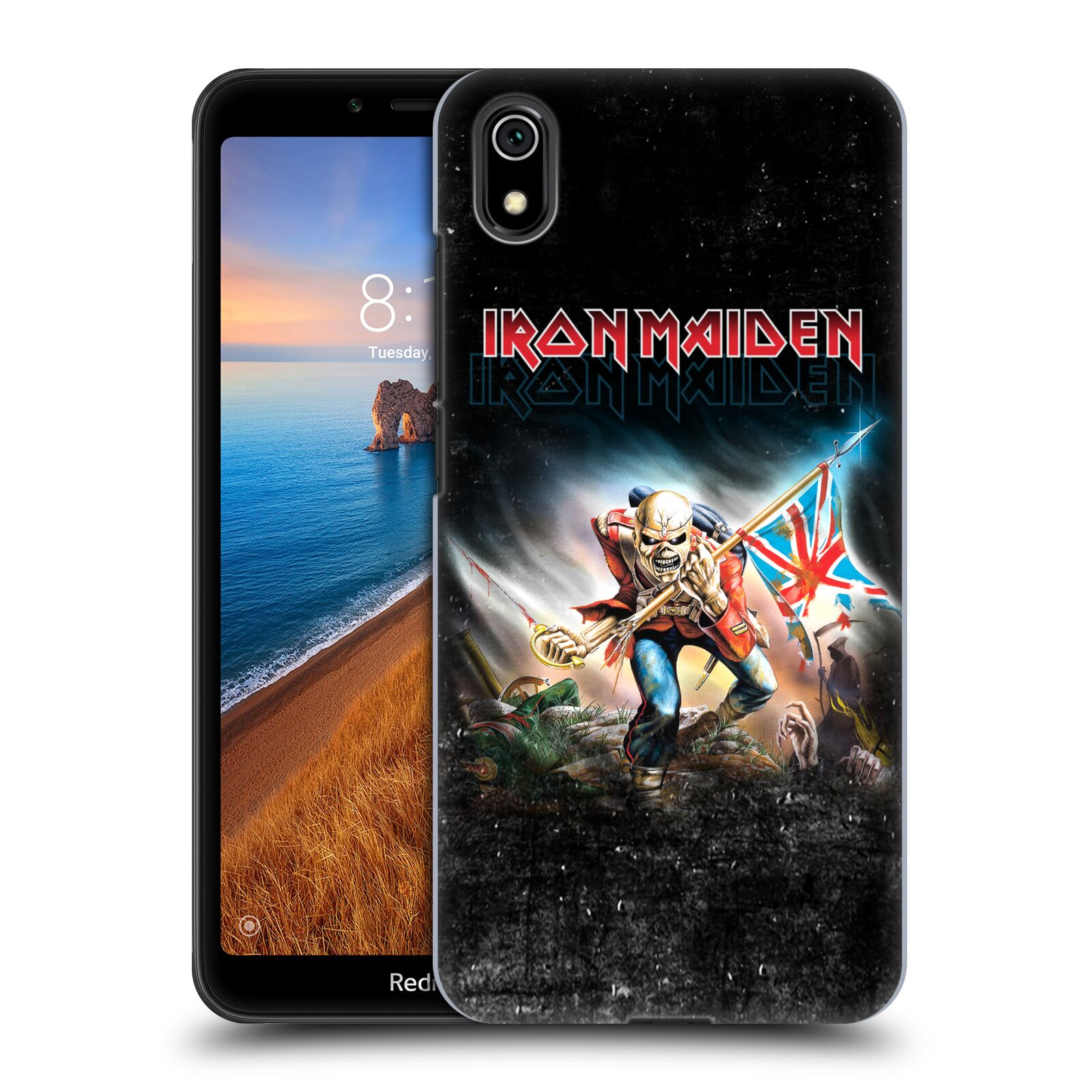 Plastové pouzdro na mobil Xiaomi Redmi 7A - Head Case - Iron Maiden - Trooper 2016