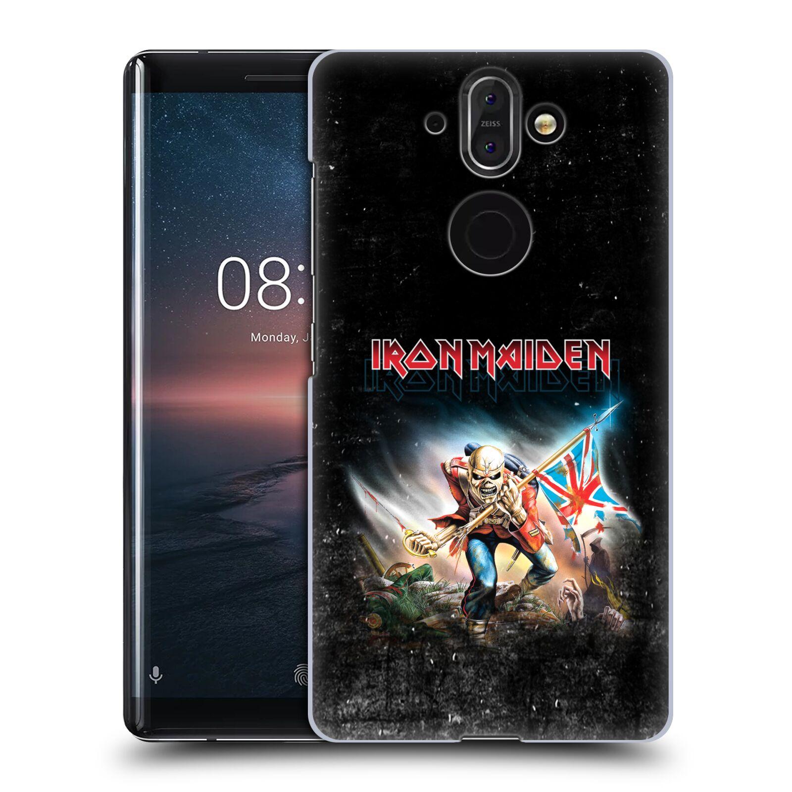Plastové pouzdro na mobil Nokia 8 Sirocco - Head Case - Iron Maiden - Trooper 2016
