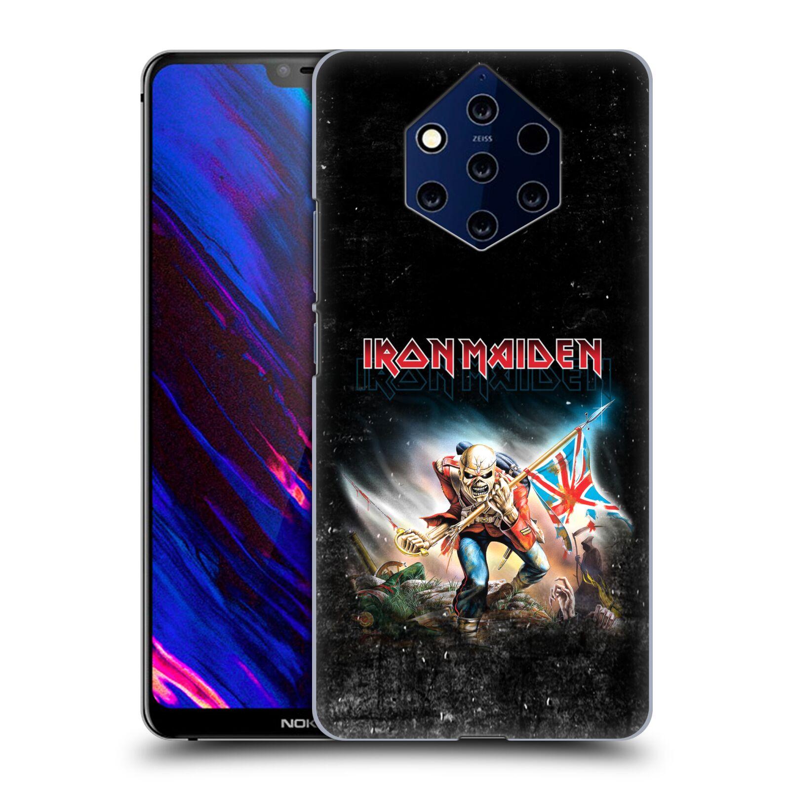 Plastové pouzdro na mobil Nokia 9 PureView - Head Case - Iron Maiden - Trooper 2016