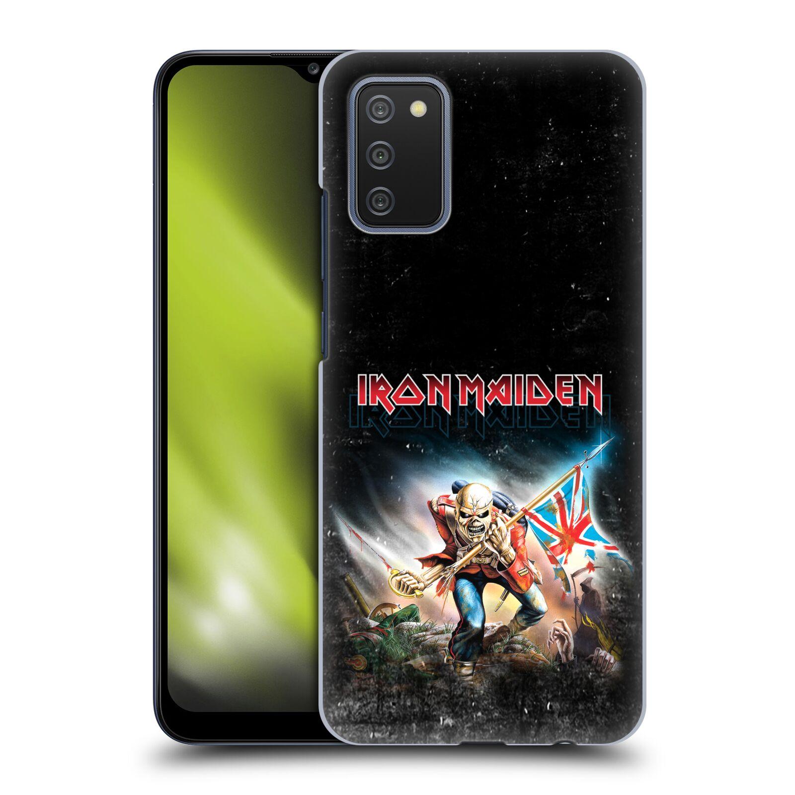 Plastové pouzdro na mobil Samsung Galaxy A02s - Head Case - Iron Maiden - Trooper 2016