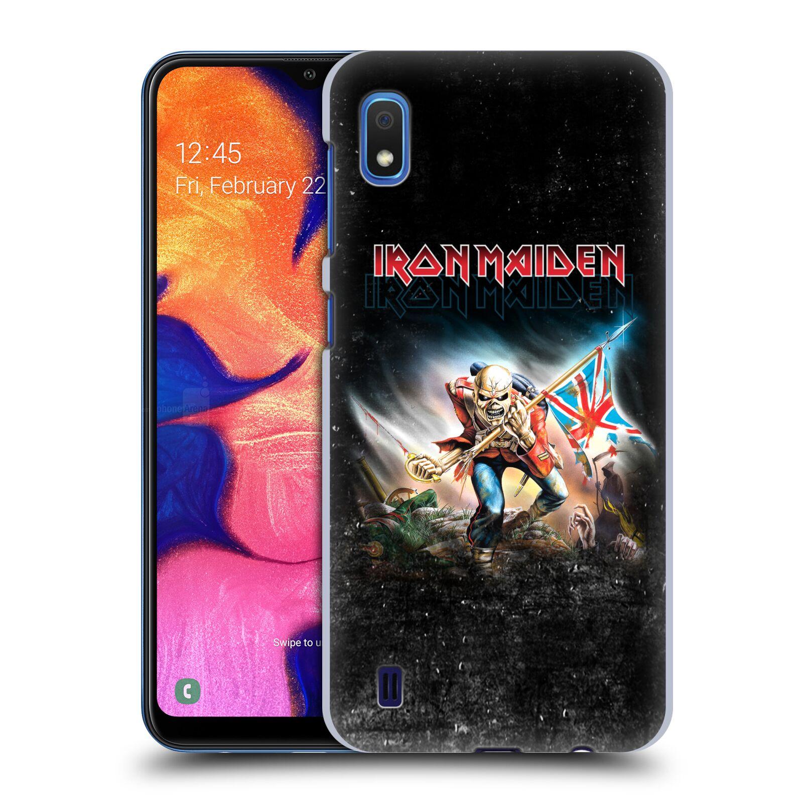 Plastové pouzdro na mobil Samsung Galaxy A10 - Head Case - Iron Maiden - Trooper 2016