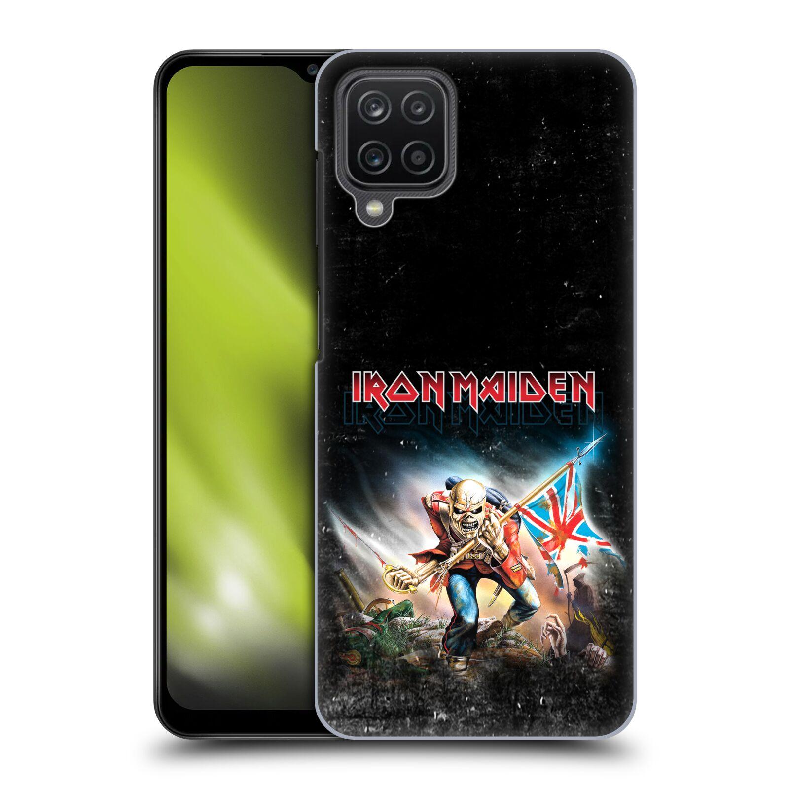 Plastové pouzdro na mobil Samsung Galaxy A12 - Head Case - Iron Maiden - Trooper 2016