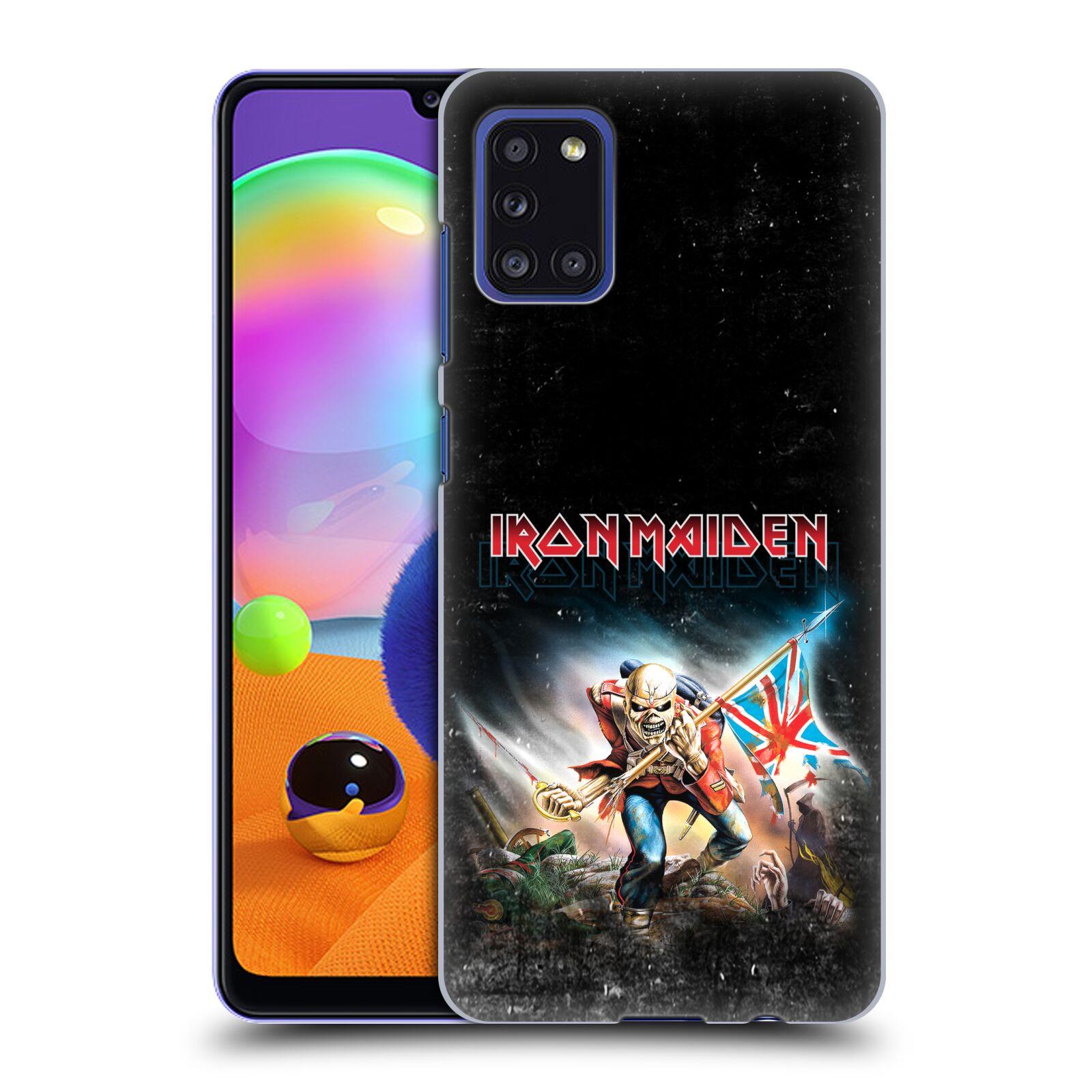 Plastové pouzdro na mobil Samsung Galaxy A31 - Head Case - Iron Maiden - Trooper 2016