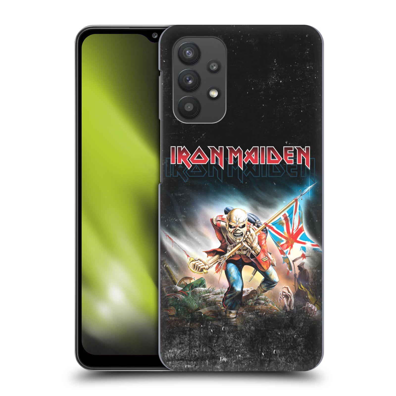 Plastové pouzdro na mobil Samsung Galaxy A32 5G - Head Case - Iron Maiden - Trooper 2016