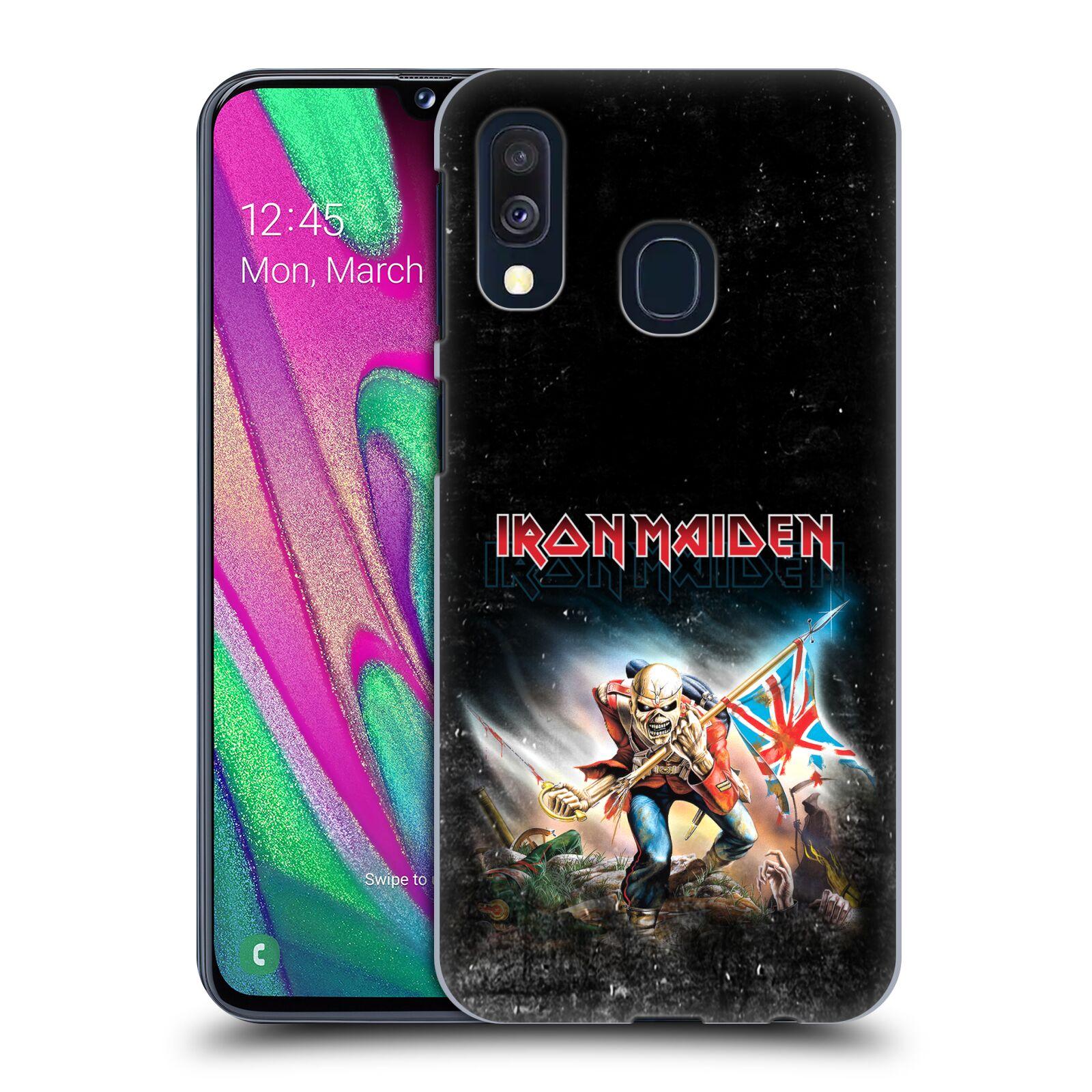 Plastové pouzdro na mobil Samsung Galaxy A40 - Head Case - Iron Maiden - Trooper 2016