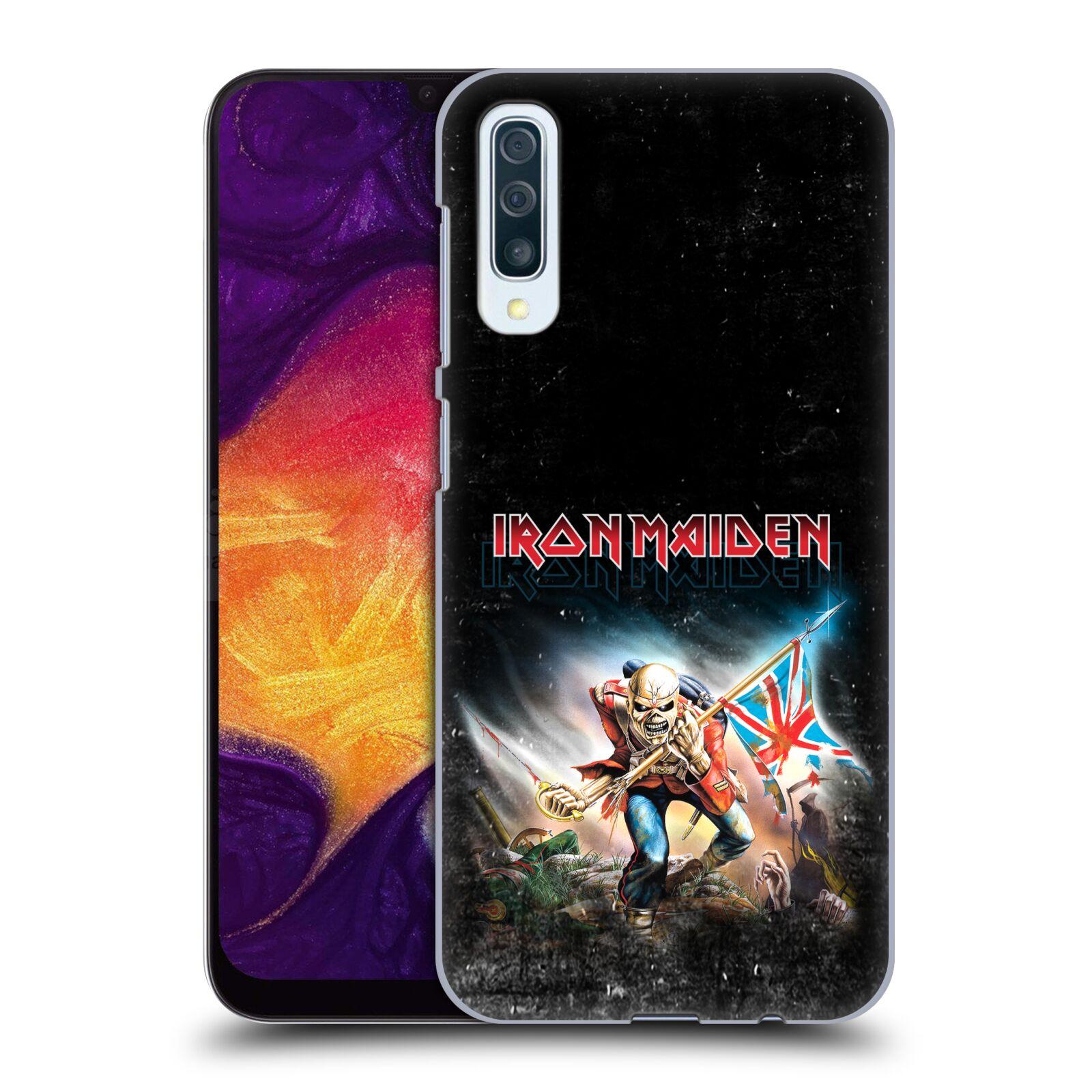 Plastové pouzdro na mobil Samsung Galaxy A50 / A30s - Head Case - Iron Maiden - Trooper 2016