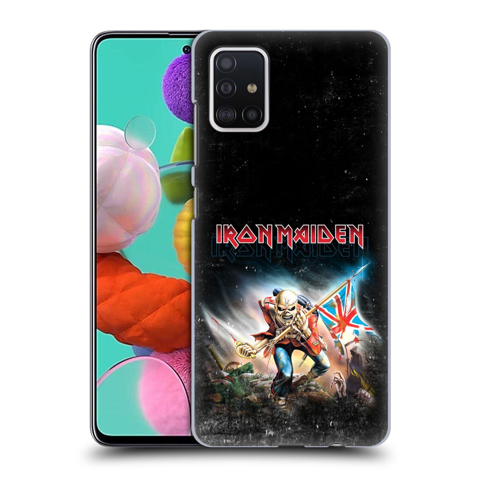 Plastové pouzdro na mobil Samsung Galaxy A51 - Head Case - Iron Maiden - Trooper 2016