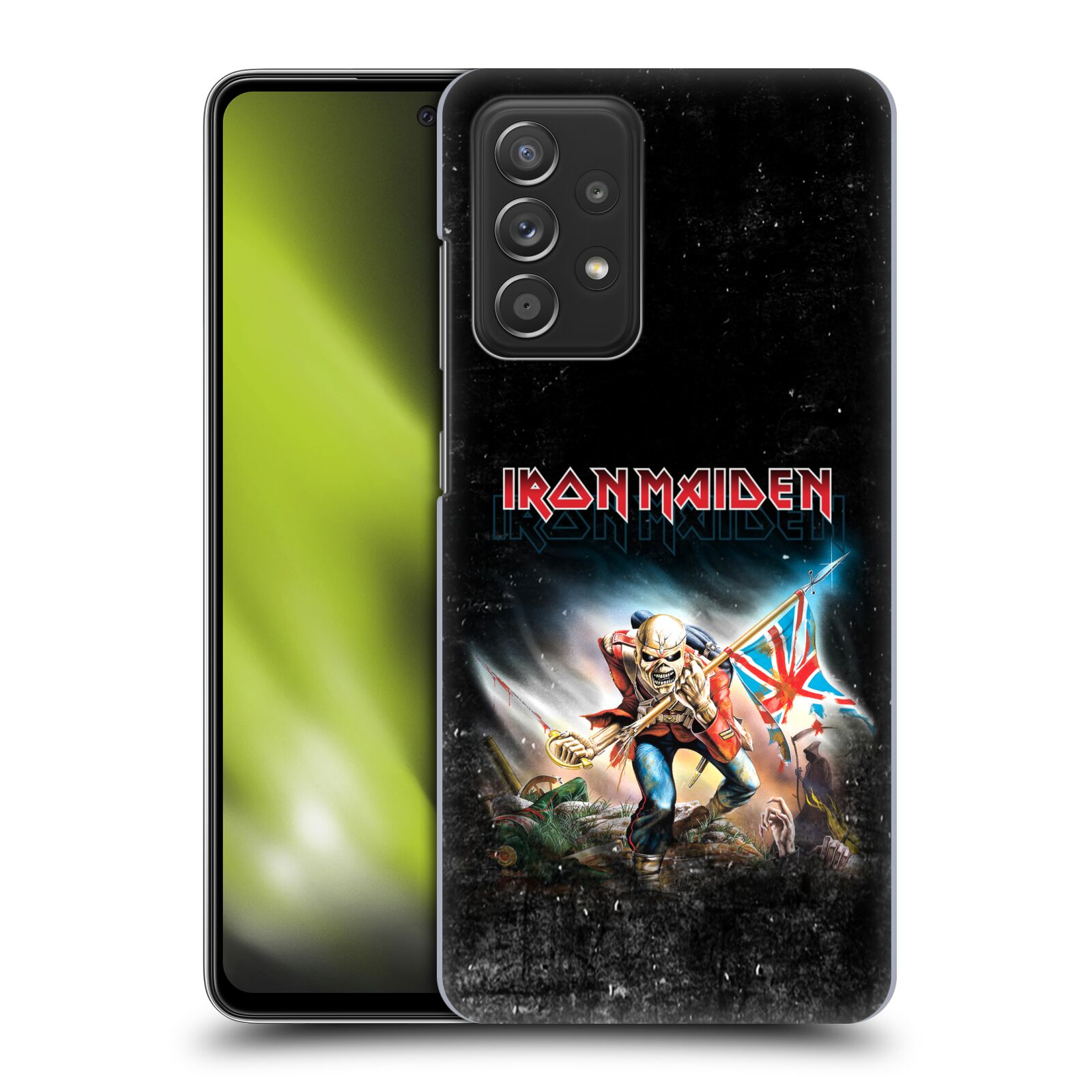 Plastové pouzdro na mobil Samsung Galaxy A52 / A52 5G / A52s 5G - Head Case - Iron Maiden - Trooper 2016