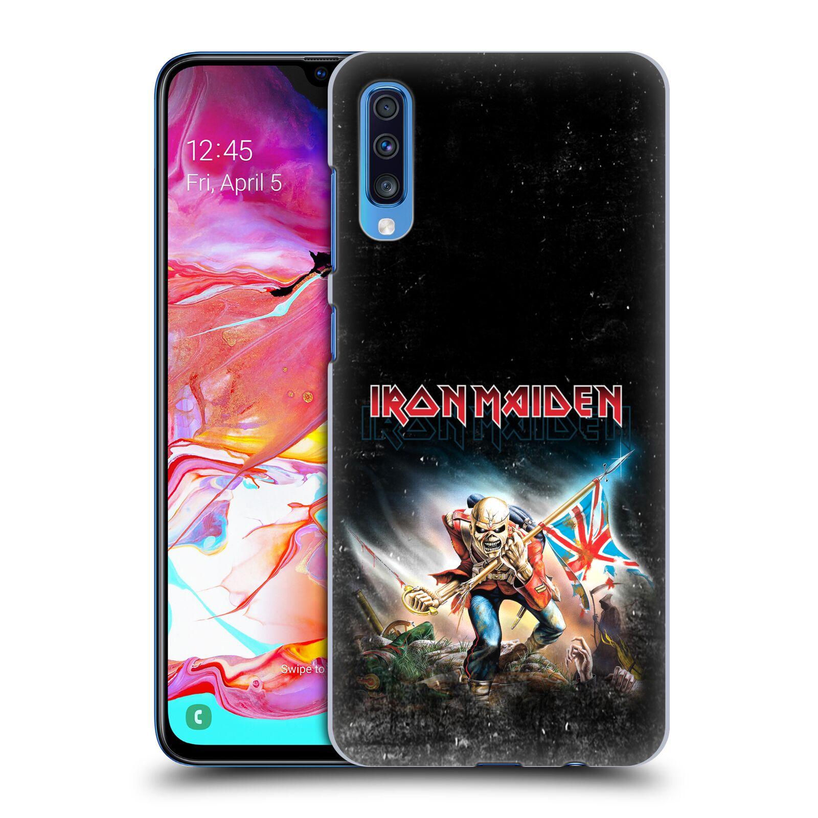 Plastové pouzdro na mobil Samsung Galaxy A70 - Head Case - Iron Maiden - Trooper 2016