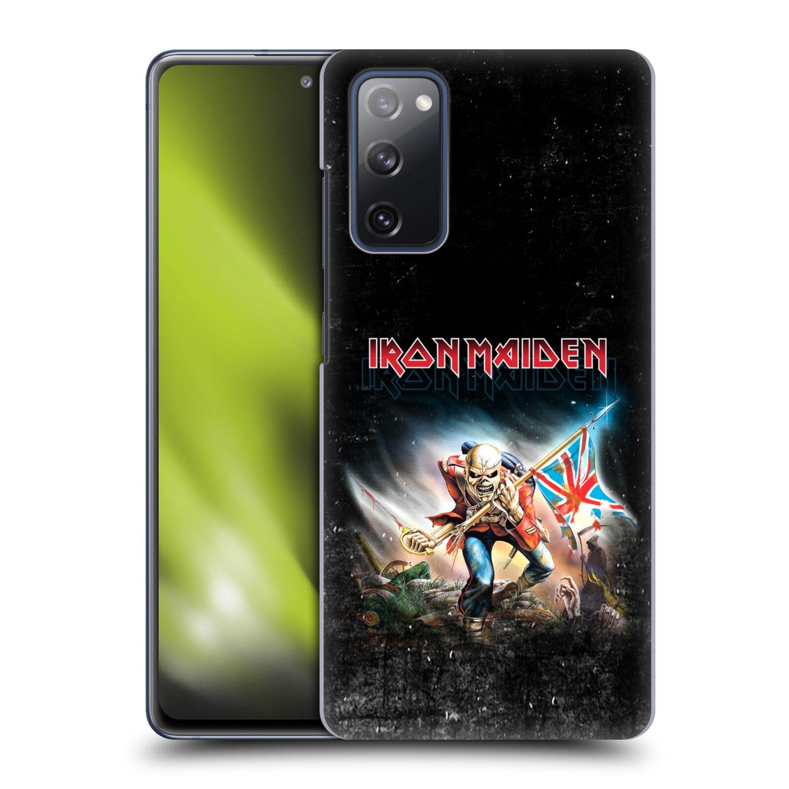 Plastové pouzdro na mobil Samsung Galaxy S20 FE - Head Case - Iron Maiden - Trooper 2016