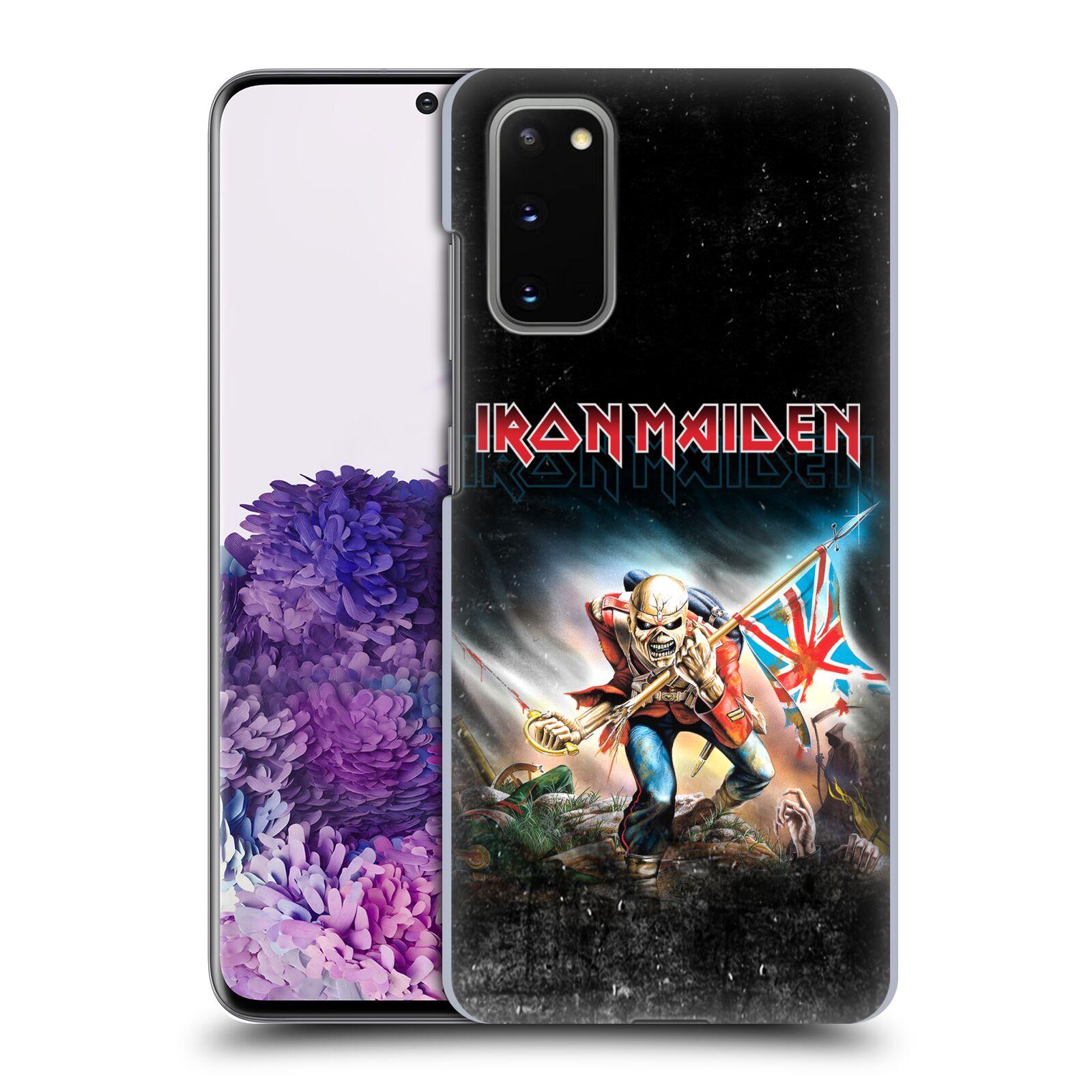 Plastové pouzdro na mobil Samsung Galaxy S20 - Head Case - Iron Maiden - Trooper 2016