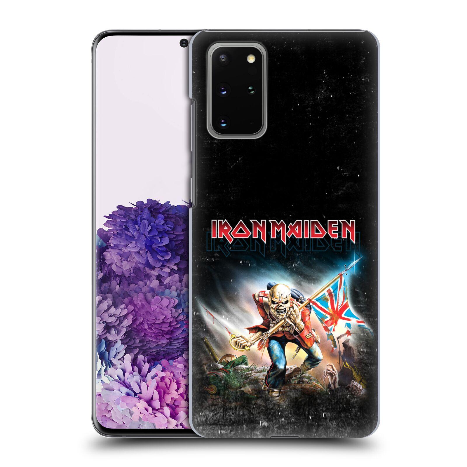 Plastové pouzdro na mobil Samsung Galaxy S20 Plus - Head Case - Iron Maiden - Trooper 2016