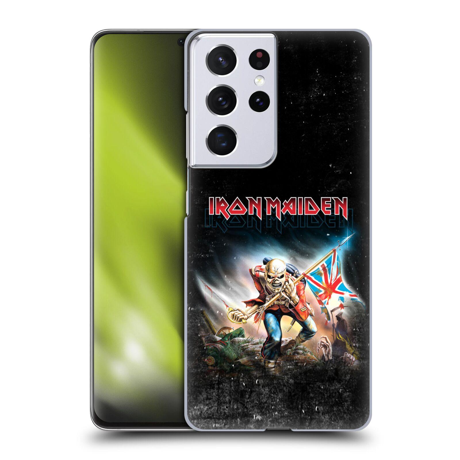Plastové pouzdro na mobil Samsung Galaxy S21 Ultra 5G - Head Case - Iron Maiden - Trooper 2016