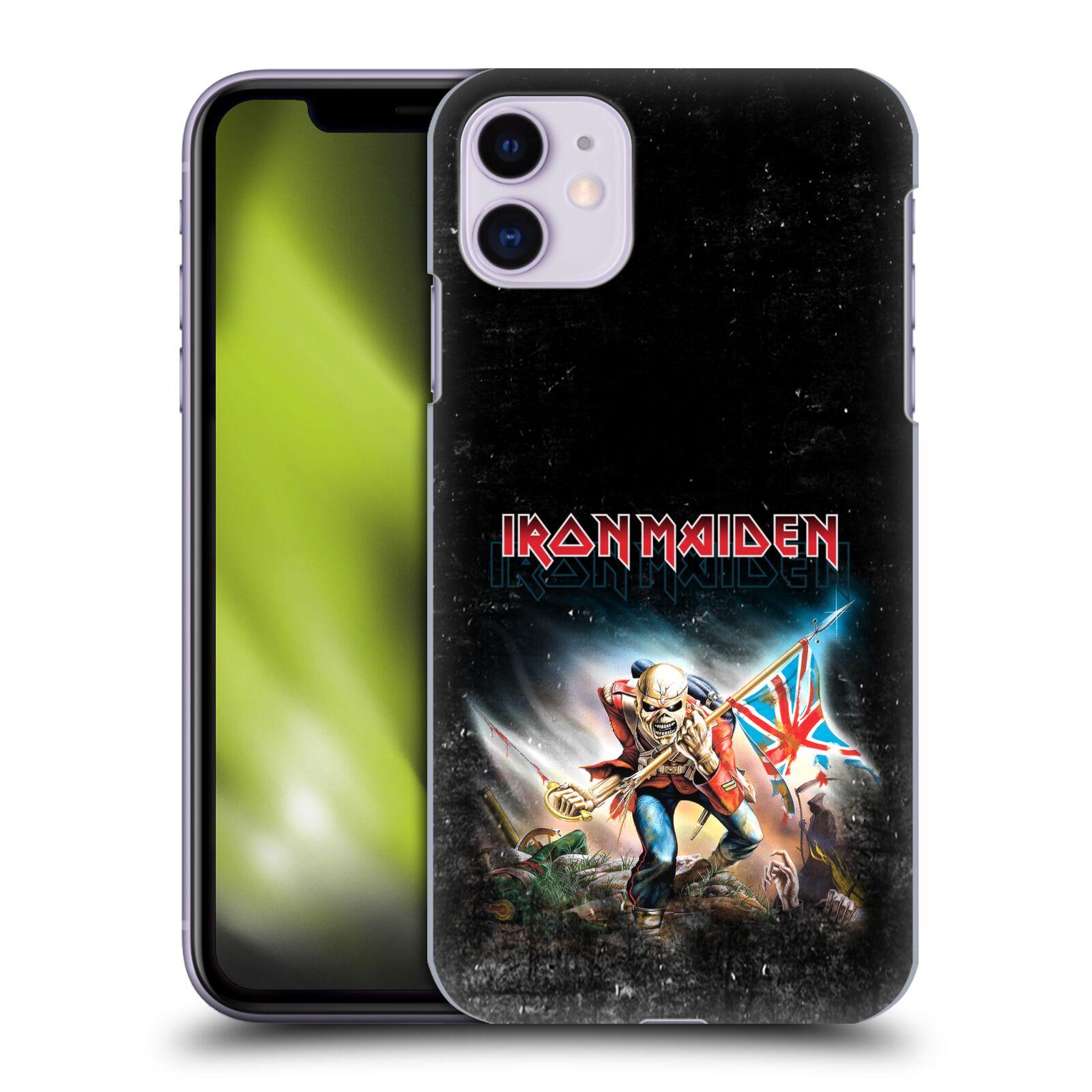 Plastové pouzdro na mobil Apple iPhone 11 - Head Case - Iron Maiden - Trooper 2016