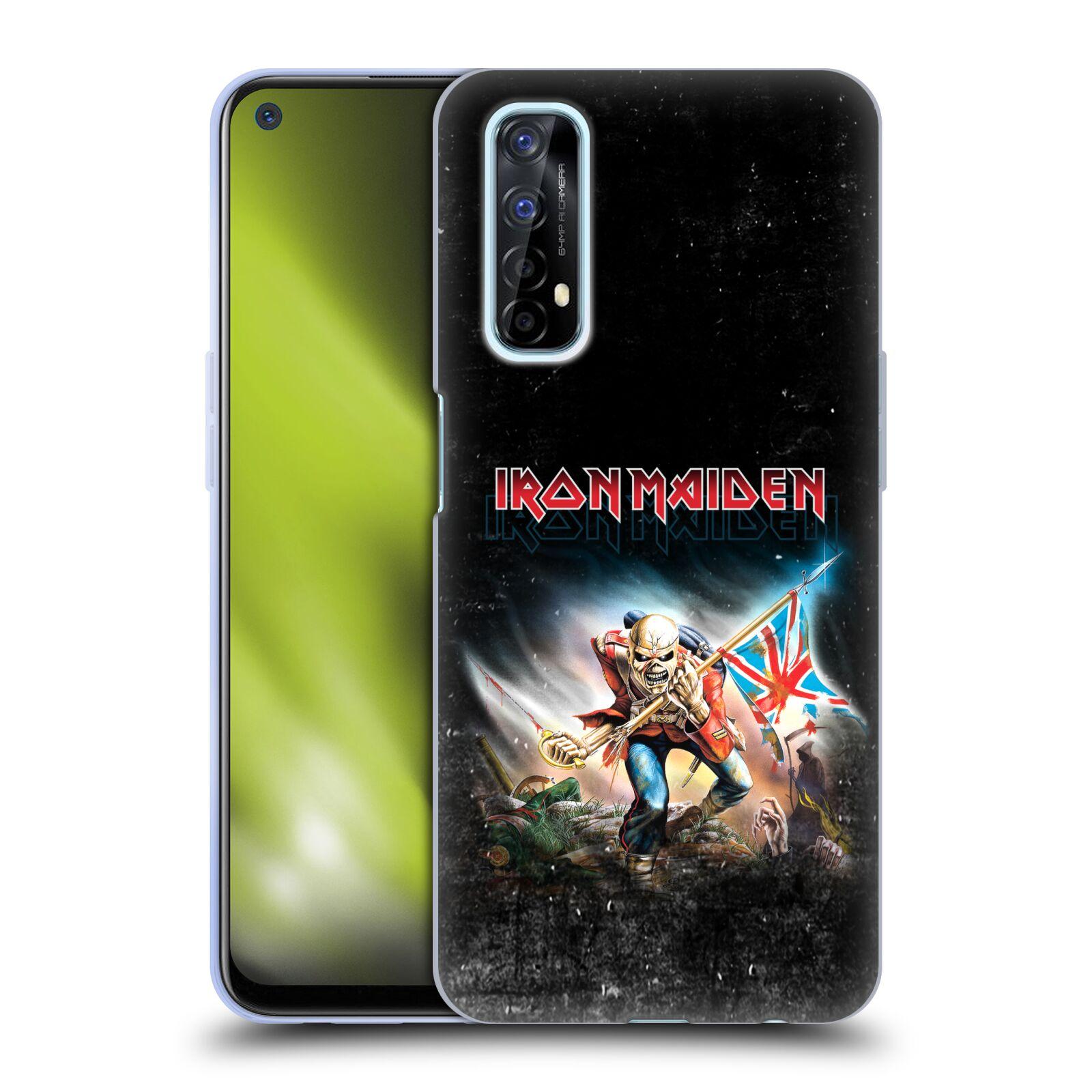 Silikonové pouzdro na mobil Realme 7 - Head Case - Iron Maiden - Trooper 2016