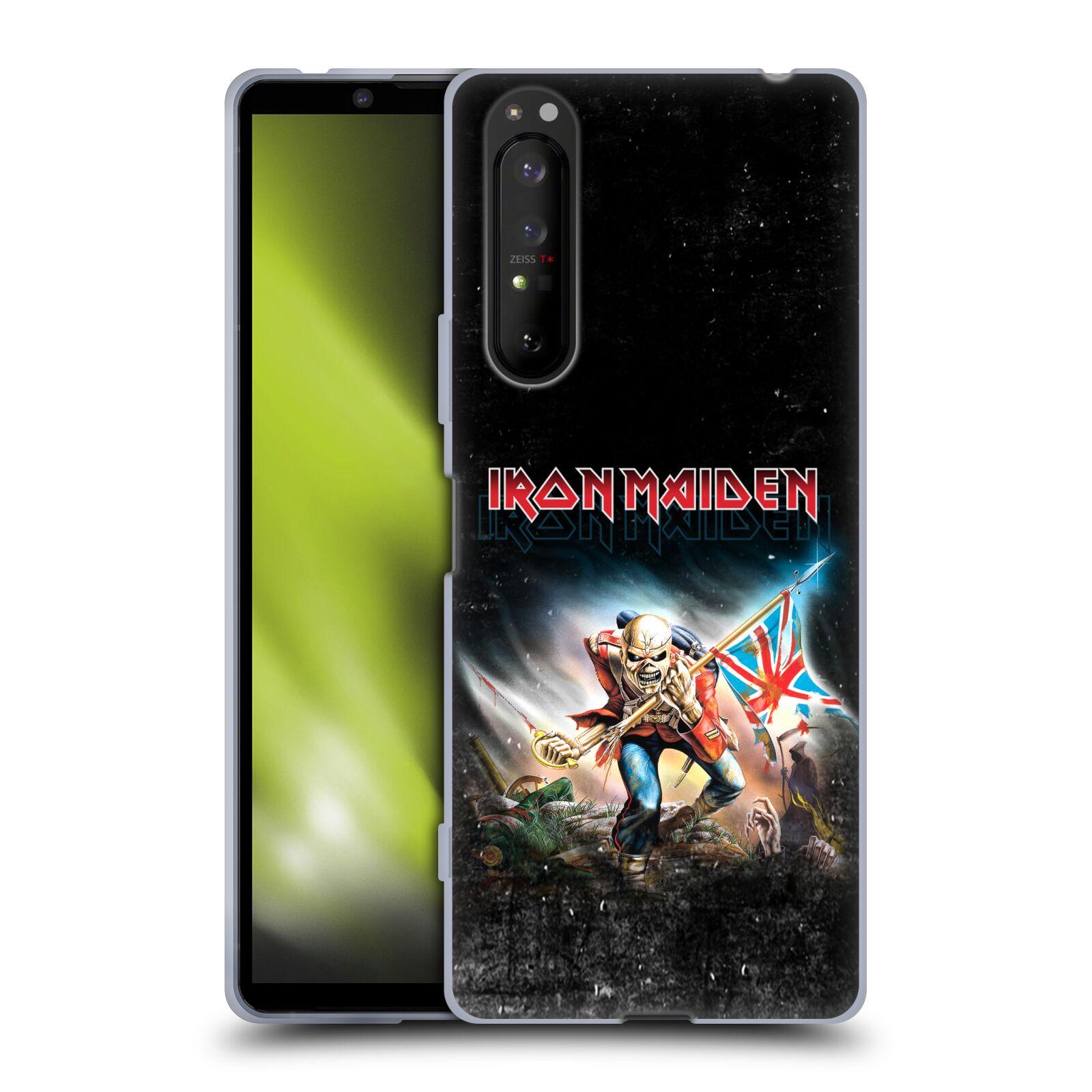 Silikonové pouzdro na mobil Sony Xperia 1 II - Head Case - Iron Maiden - Trooper 2016