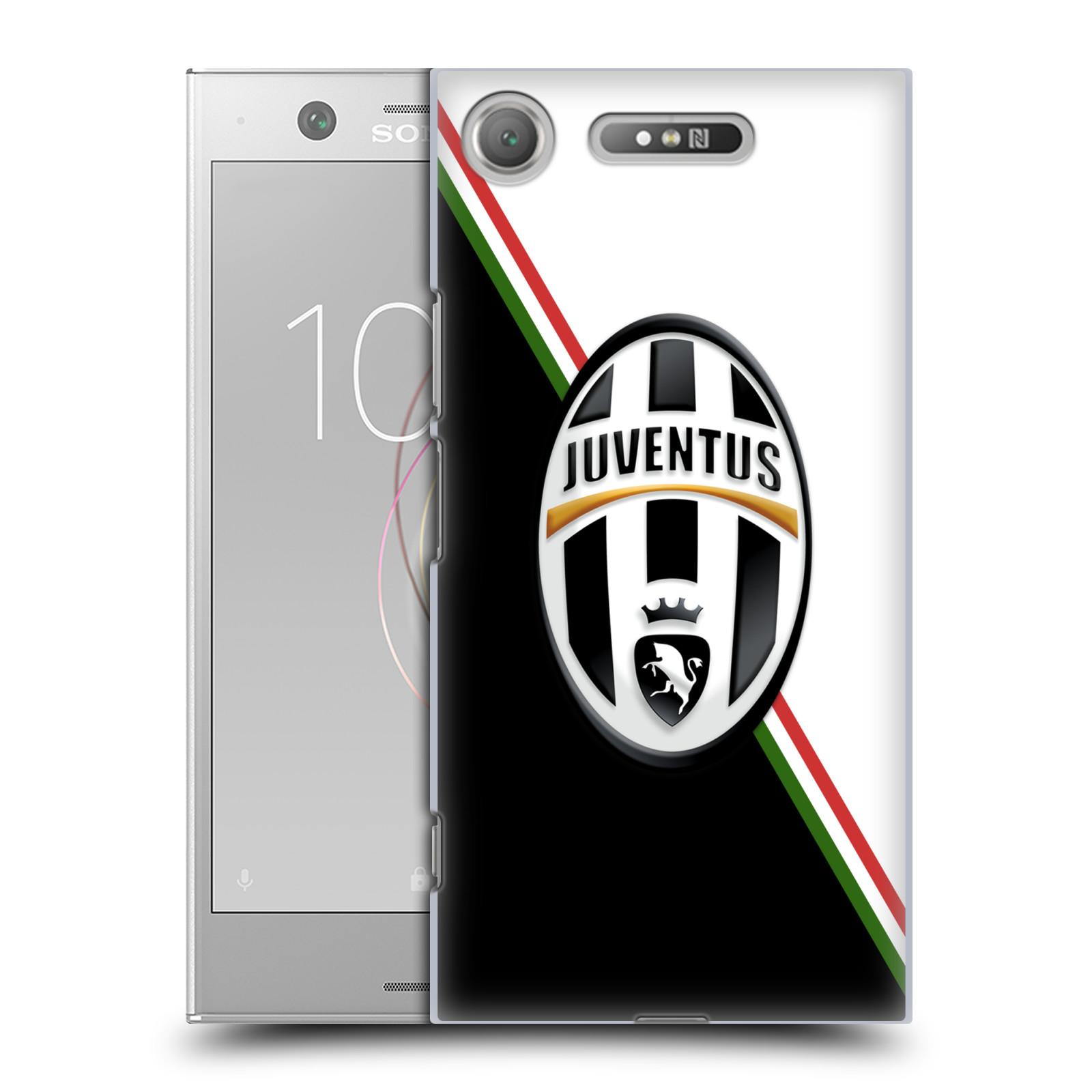Plastové pouzdro na mobil Sony Xperia XZ1 - Head Case - Juventus FC - Black and White (Plastový kryt či obal na mobilní telefon Sony Xperia XZ1 (G8342 Dual Sim / G8341 Single Sim) s motivem Juventus FC - Black and White)