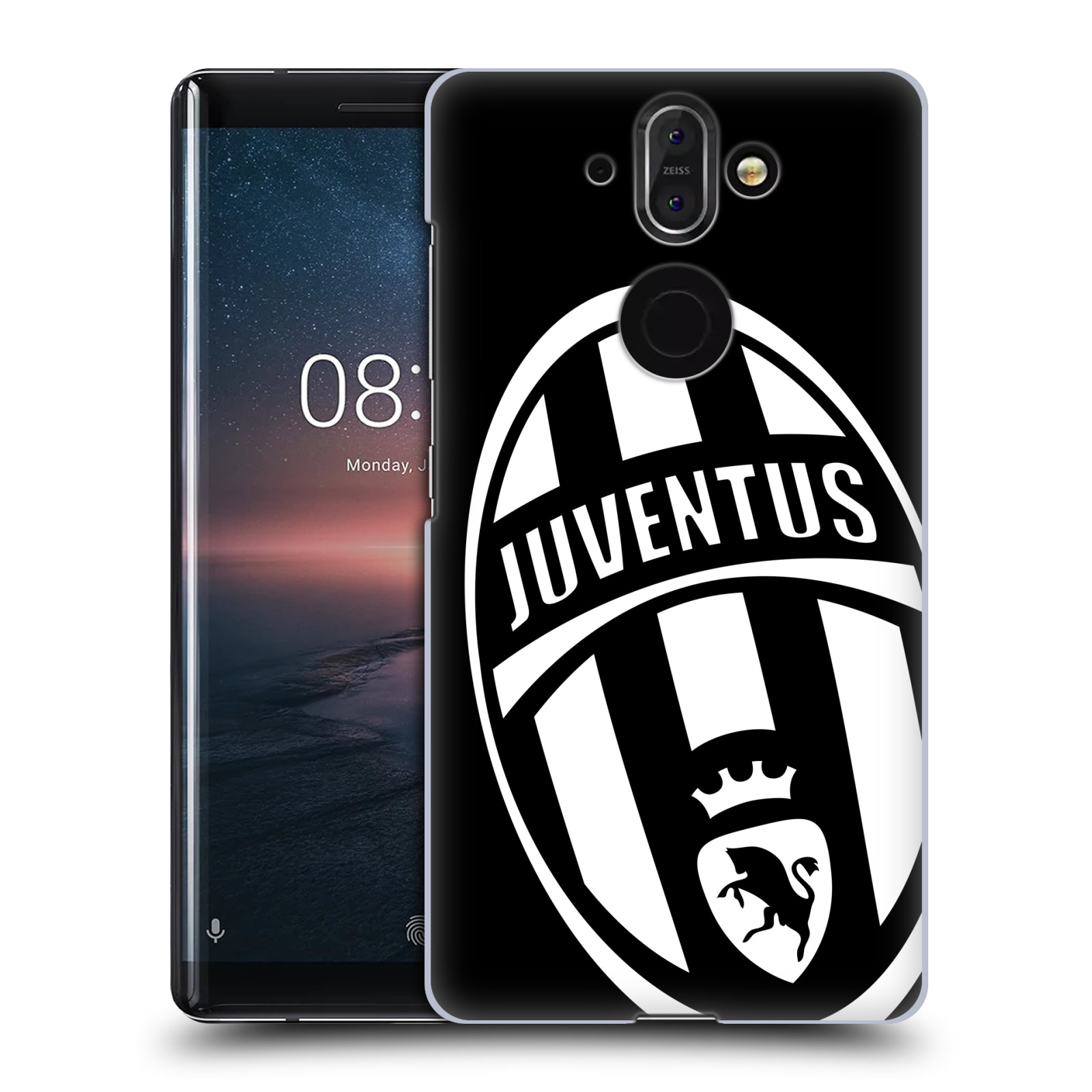 Plastové pouzdro na mobil Nokia 8 Sirocco - Head Case - Juventus FC - Velké Logo