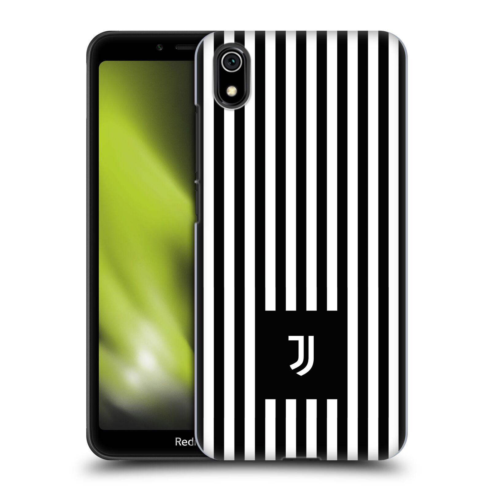 Plastové pouzdro na mobil Xiaomi Redmi 7A - Head Case - Juventus FC - Nové logo - Pruhy