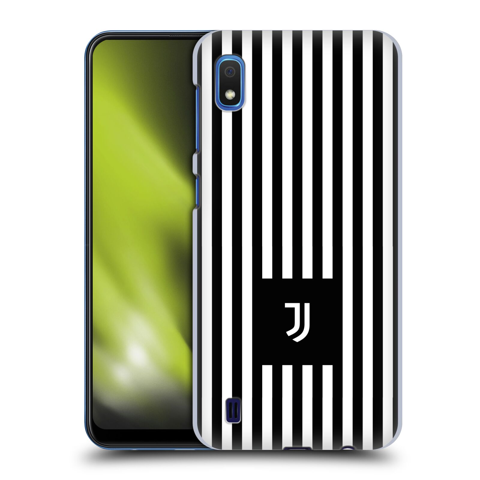Plastové pouzdro na mobil Samsung Galaxy A10 - Head Case - Juventus FC - Nové logo - Pruhy