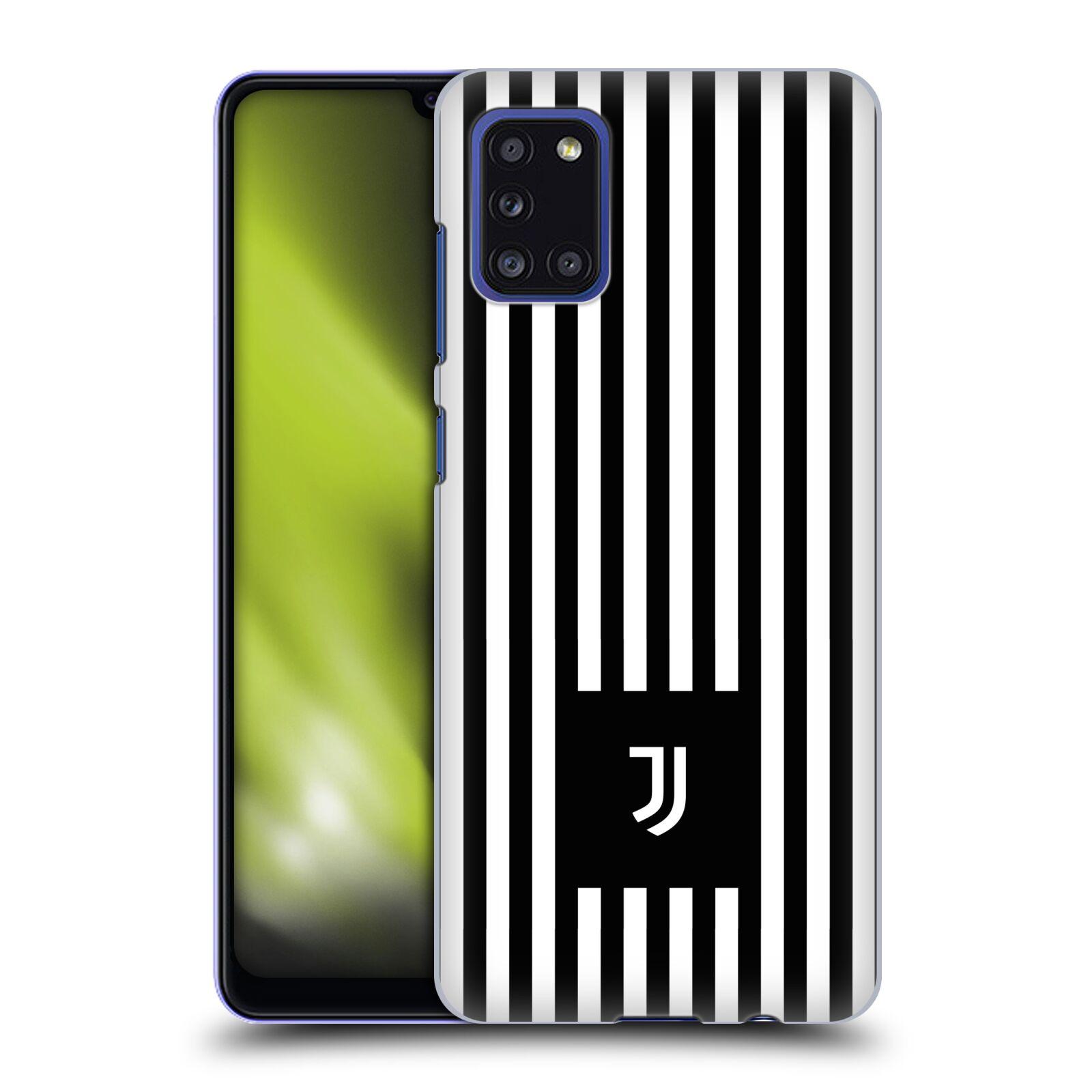 Plastové pouzdro na mobil Samsung Galaxy A31 - Head Case - Juventus FC - Nové logo - Pruhy