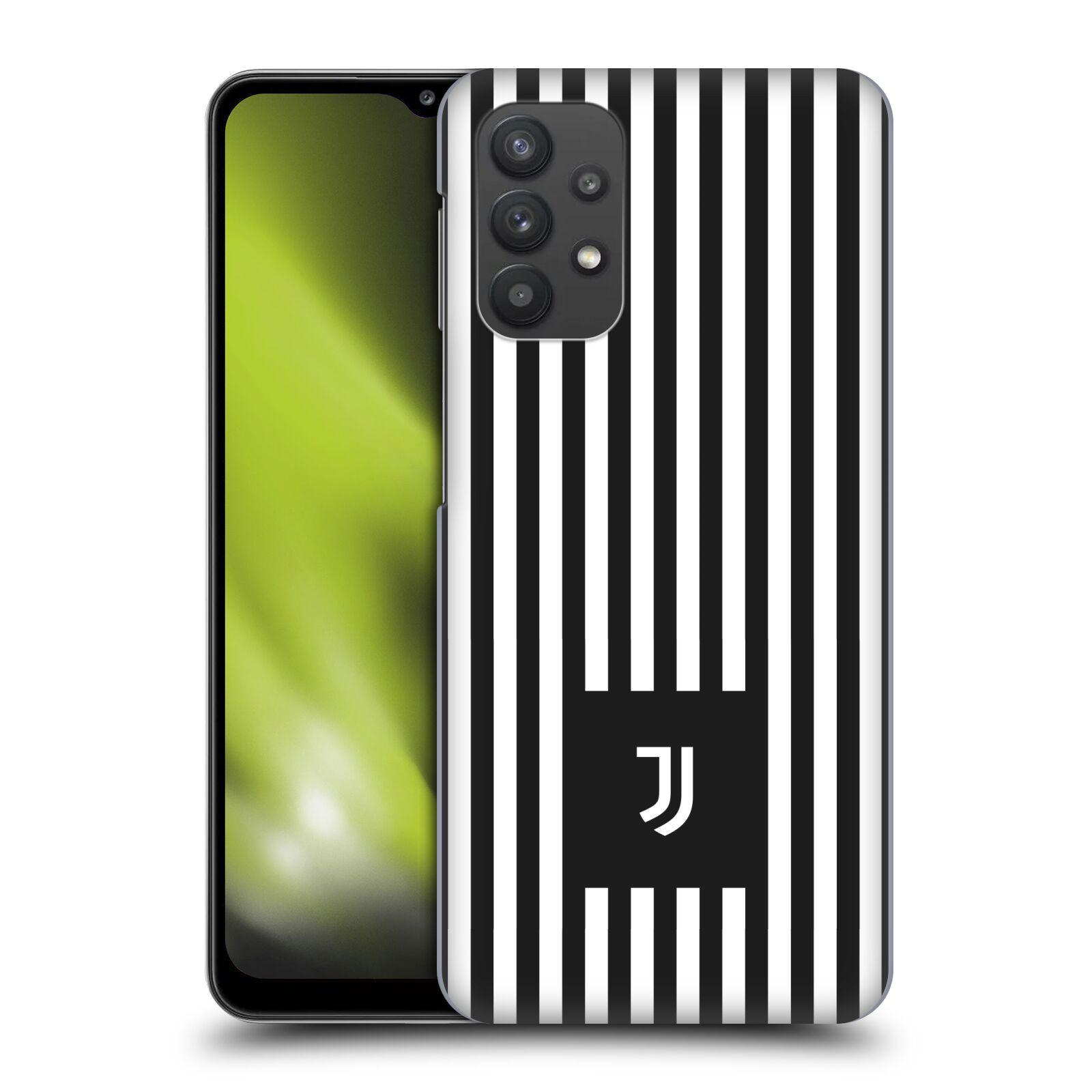 Plastové pouzdro na mobil Samsung Galaxy A32 5G - Head Case - Juventus FC - Nové logo - Pruhy