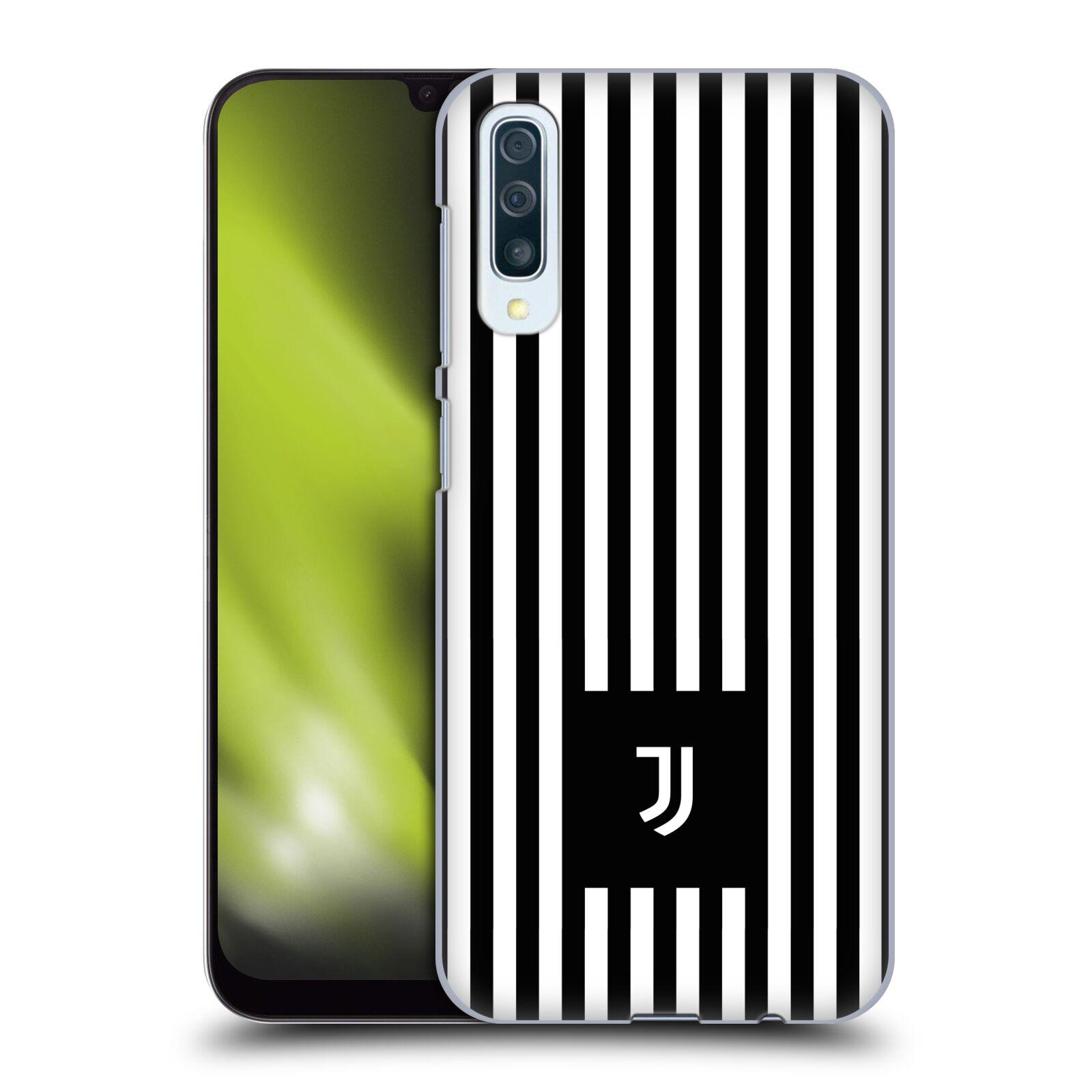 Plastové pouzdro na mobil Samsung Galaxy A50 - Head Case - Juventus FC - Nové logo - Pruhy