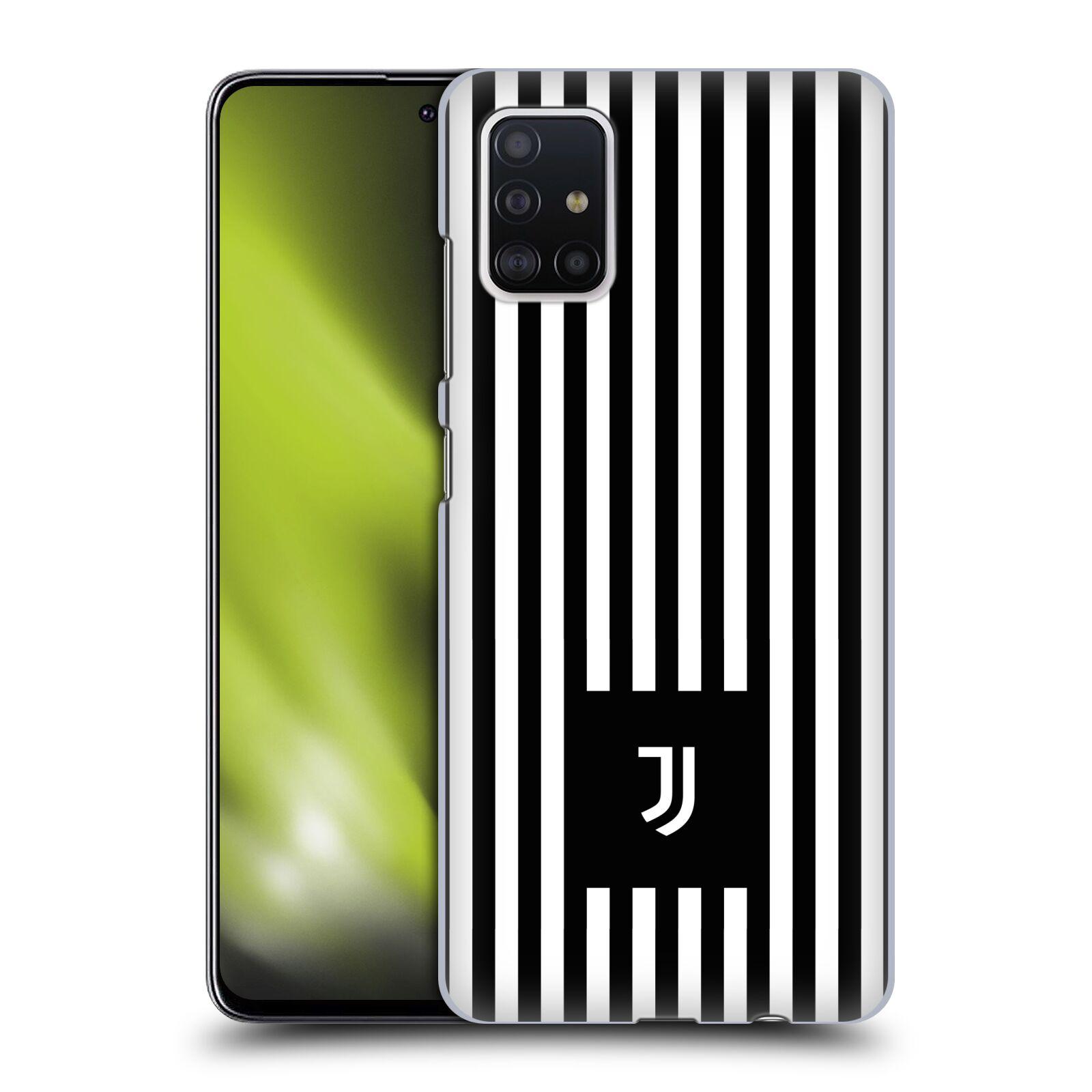Plastové pouzdro na mobil Samsung Galaxy A51 - Head Case - Juventus FC - Nové logo - Pruhy