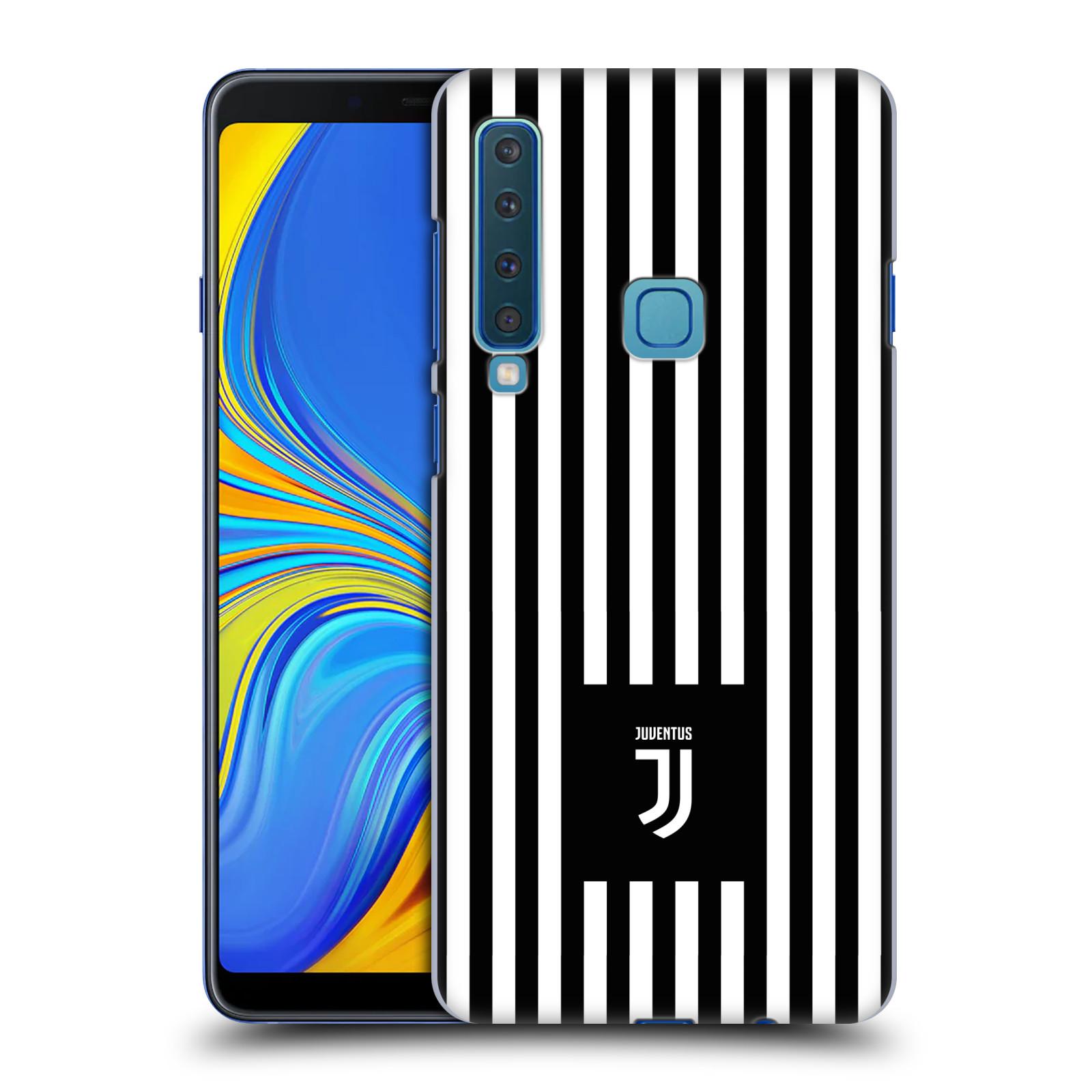 Plastové pouzdro na mobil Samsung Galaxy A9 (2018) - Head Case - Juventus FC - Nové logo - Pruhy