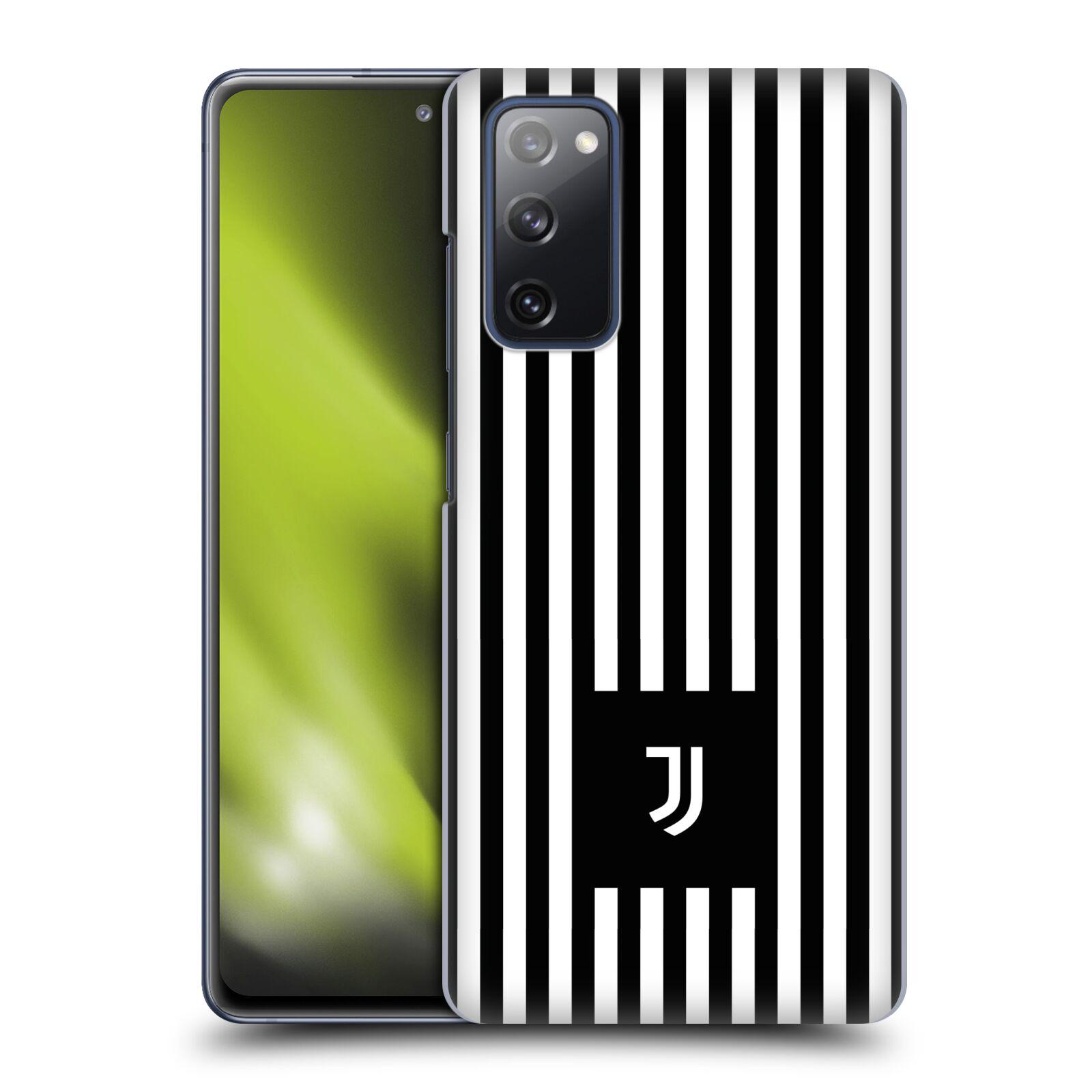 Plastové pouzdro na mobil Samsung Galaxy S20 FE - Head Case - Juventus FC - Nové logo - Pruhy