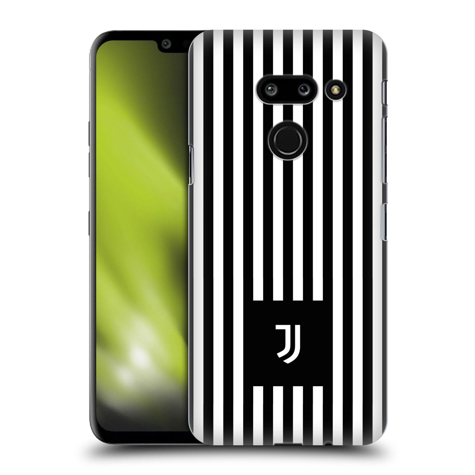 Plastové pouzdro na mobil LG G8 ThinQ - Head Case - Juventus FC - Nové logo - Pruhy